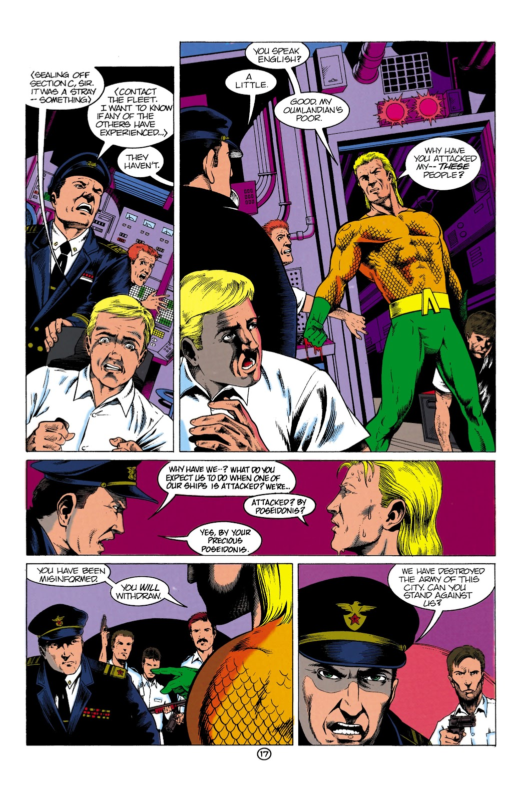 Aquaman (1991) Issue #1 #1 - English 17