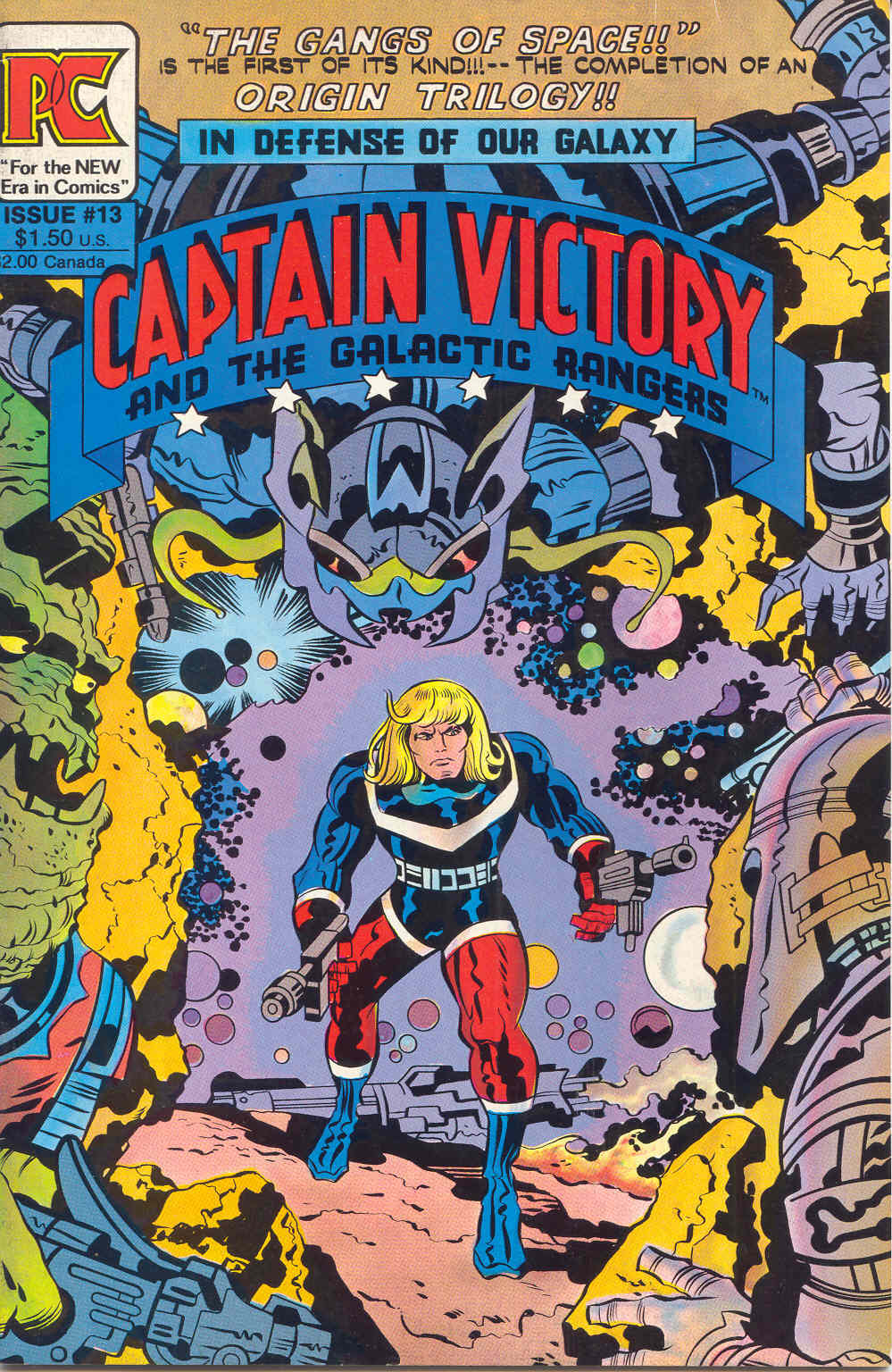 Captain Victory and the Galactic Rangers (1981) 13 Page 1