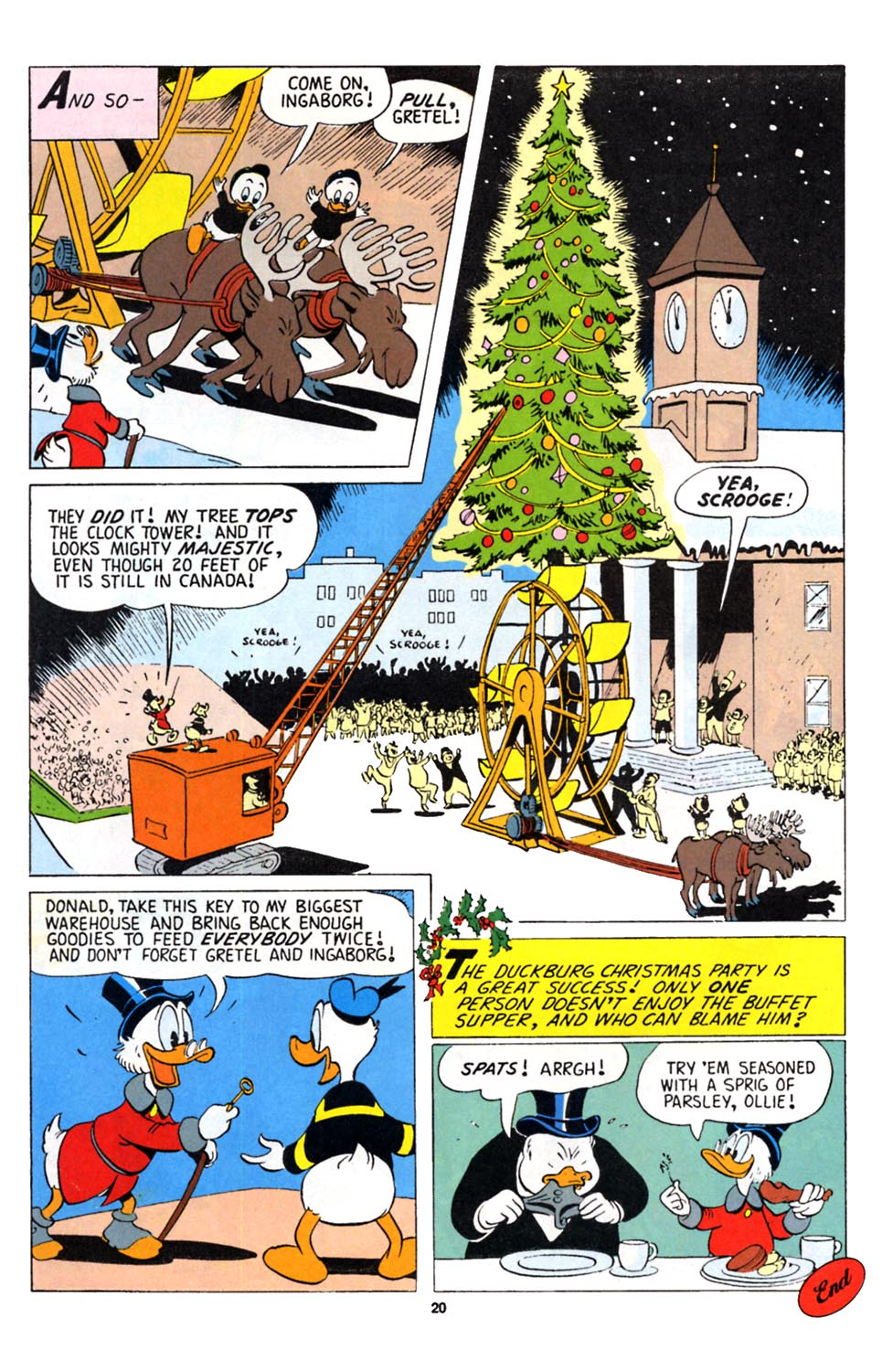 Uncle Scrooge (1953) Issue #251 #251 - English 21