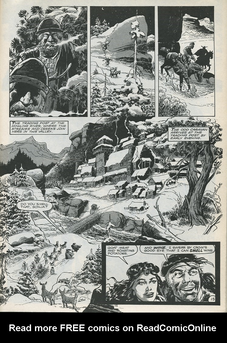 The Savage Sword Of Conan Issue #179 #180 - English 17