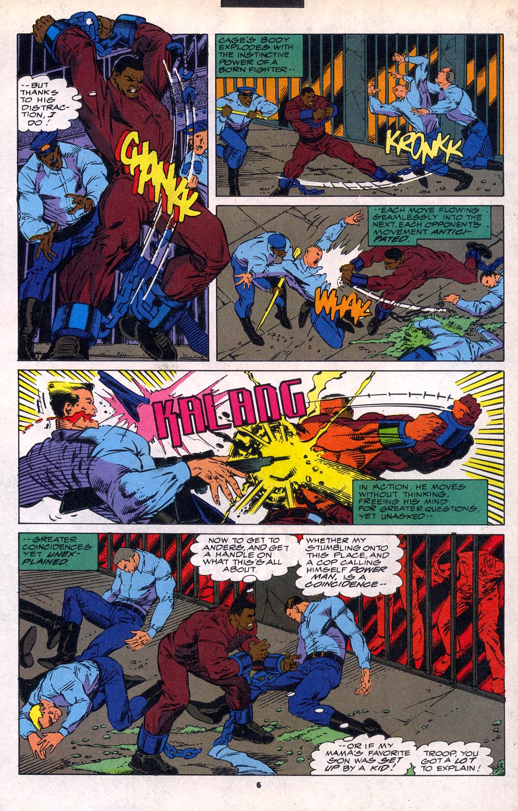 Cage (1992) 6 Page 5