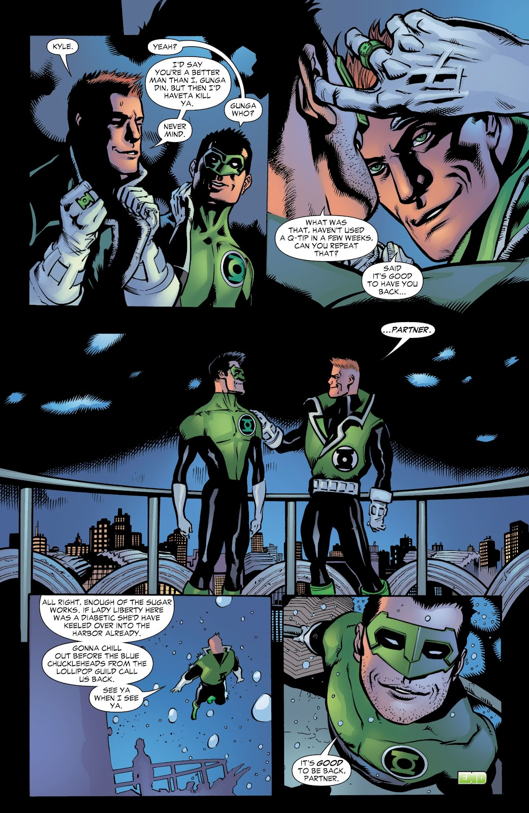 Green Lantern: The Sinestro Corps War Full #1 - English 302