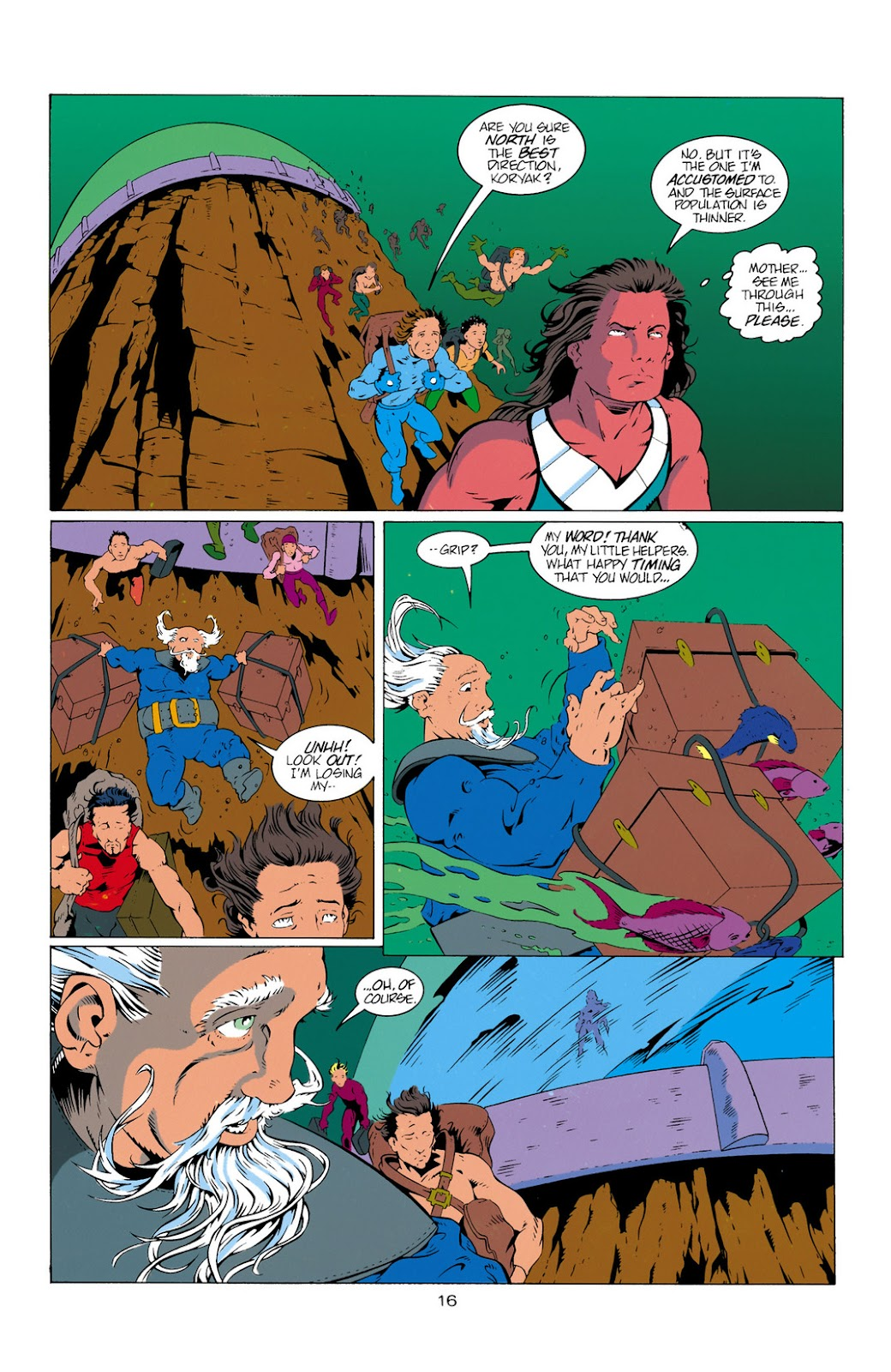 Aquaman (1994) Issue #11 #17 - English 16