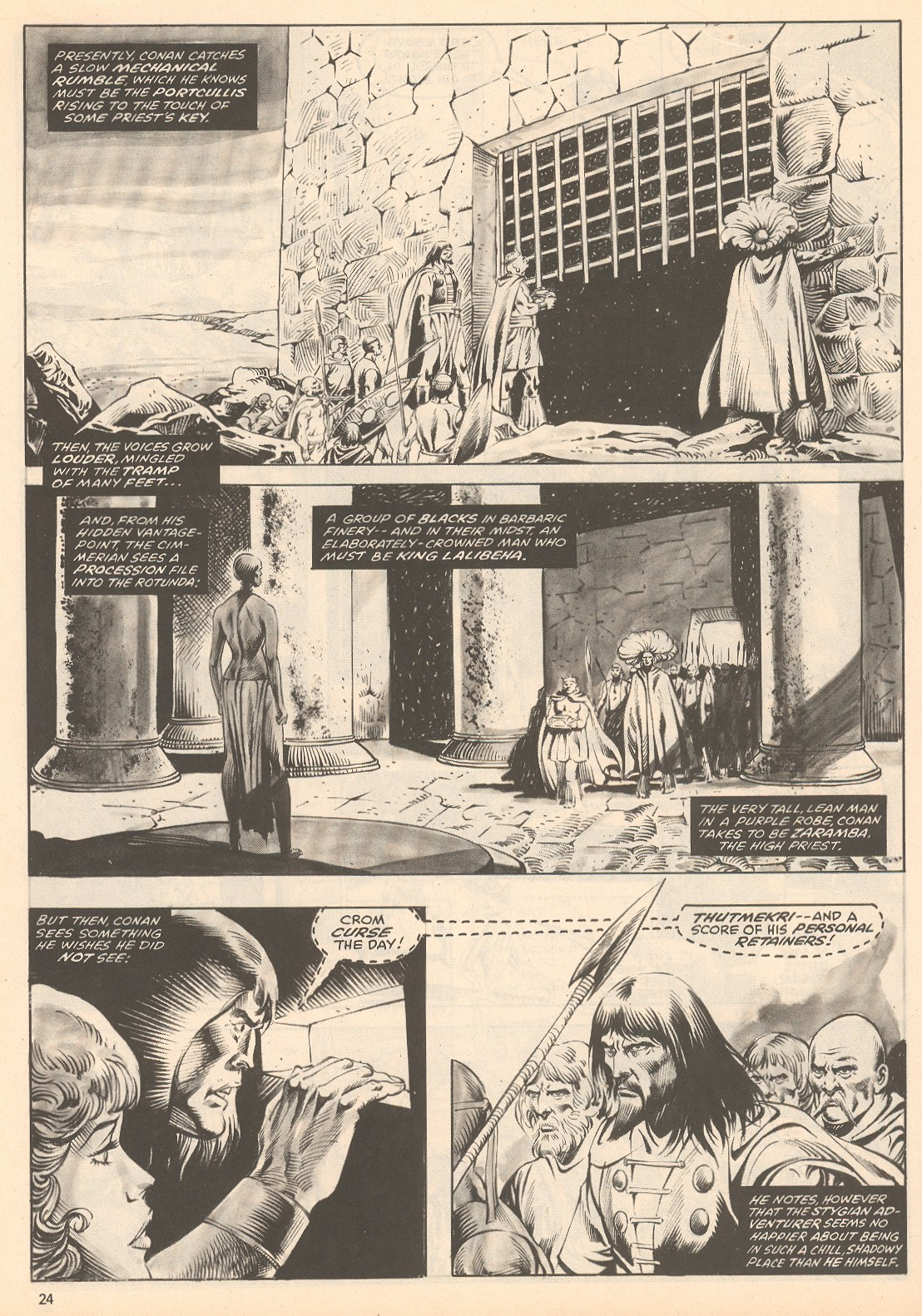 The Savage Sword Of Conan Issue #60 #61 - English 24