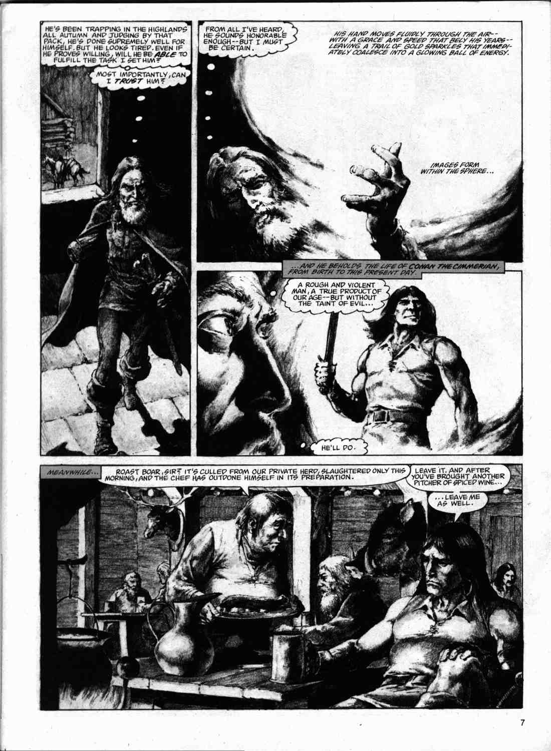 The Savage Sword Of Conan Issue #74 #75 - English 6