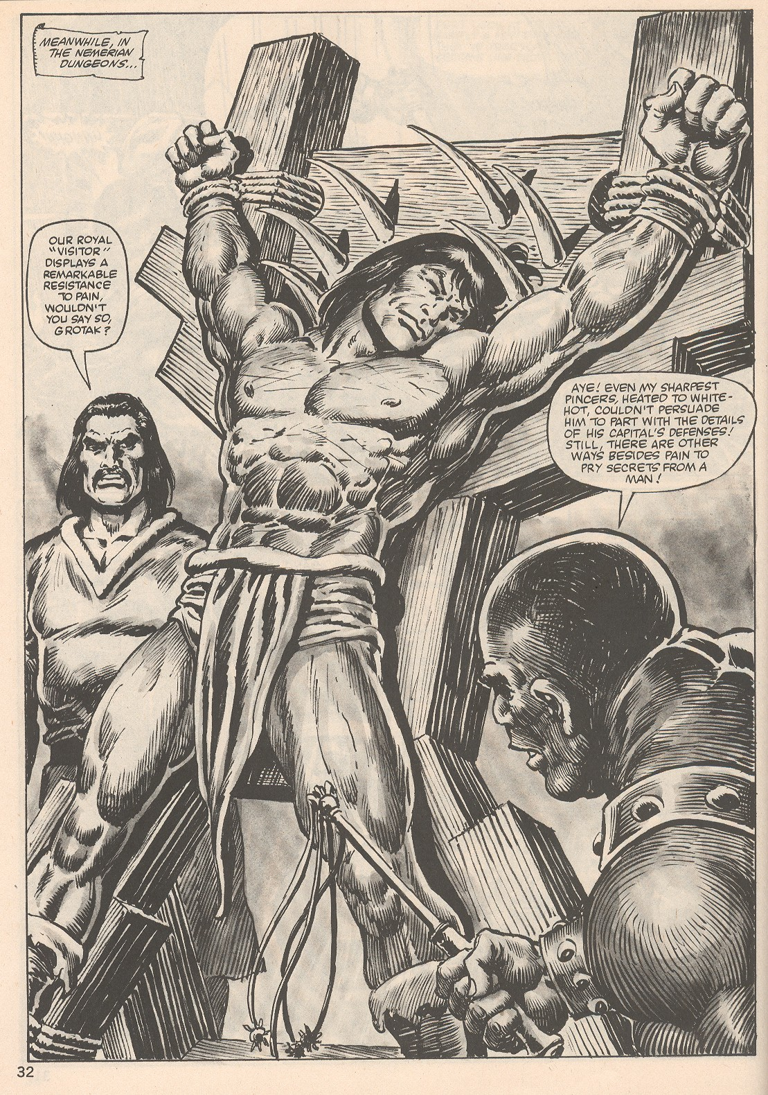 The Savage Sword Of Conan Issue #104 #105 - English 32