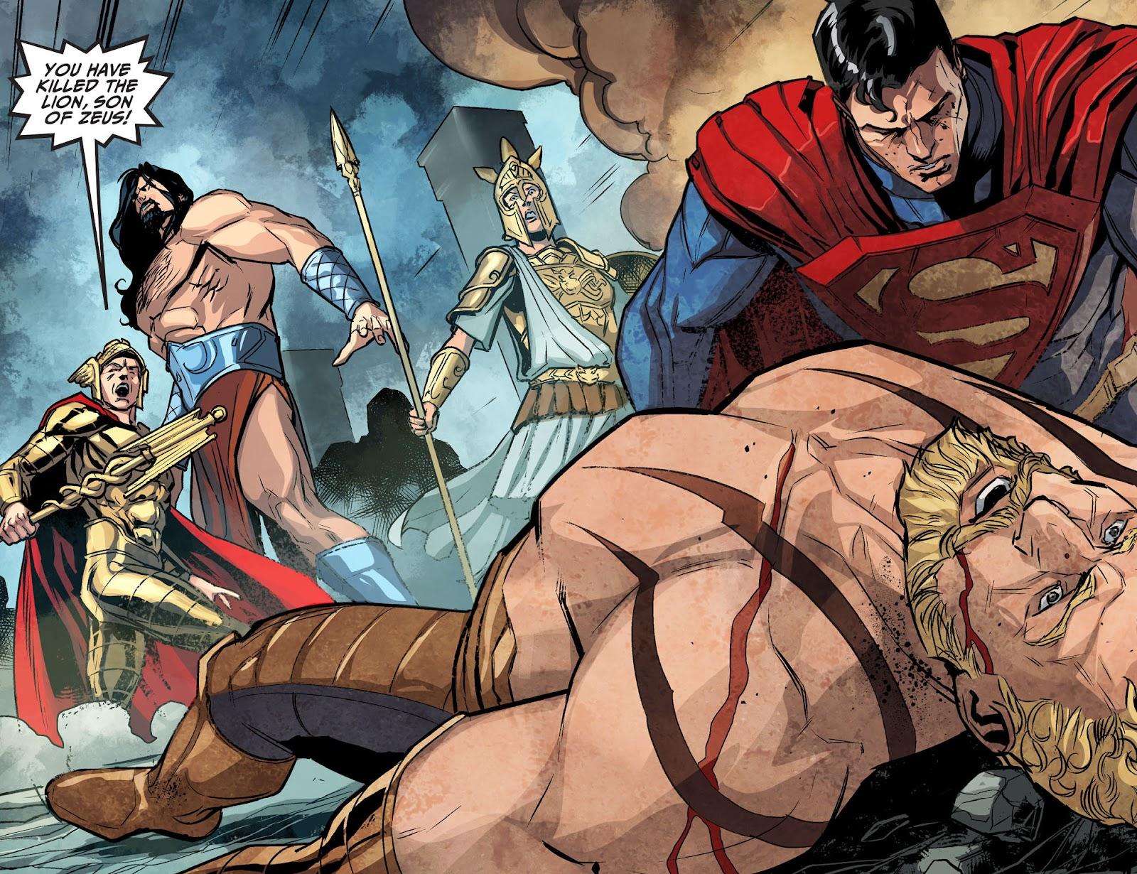 Injustice: Gods Among Us Year Four Issue #14 #15 - English 4