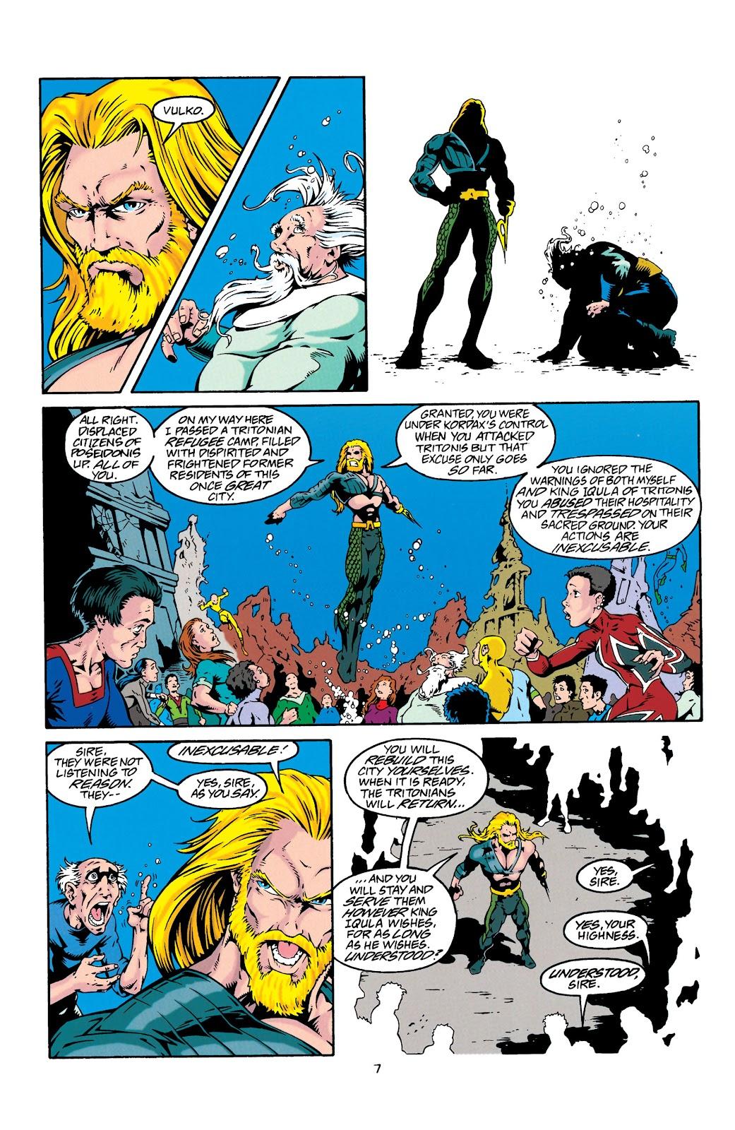 Aquaman (1994) Issue #27 #33 - English 8