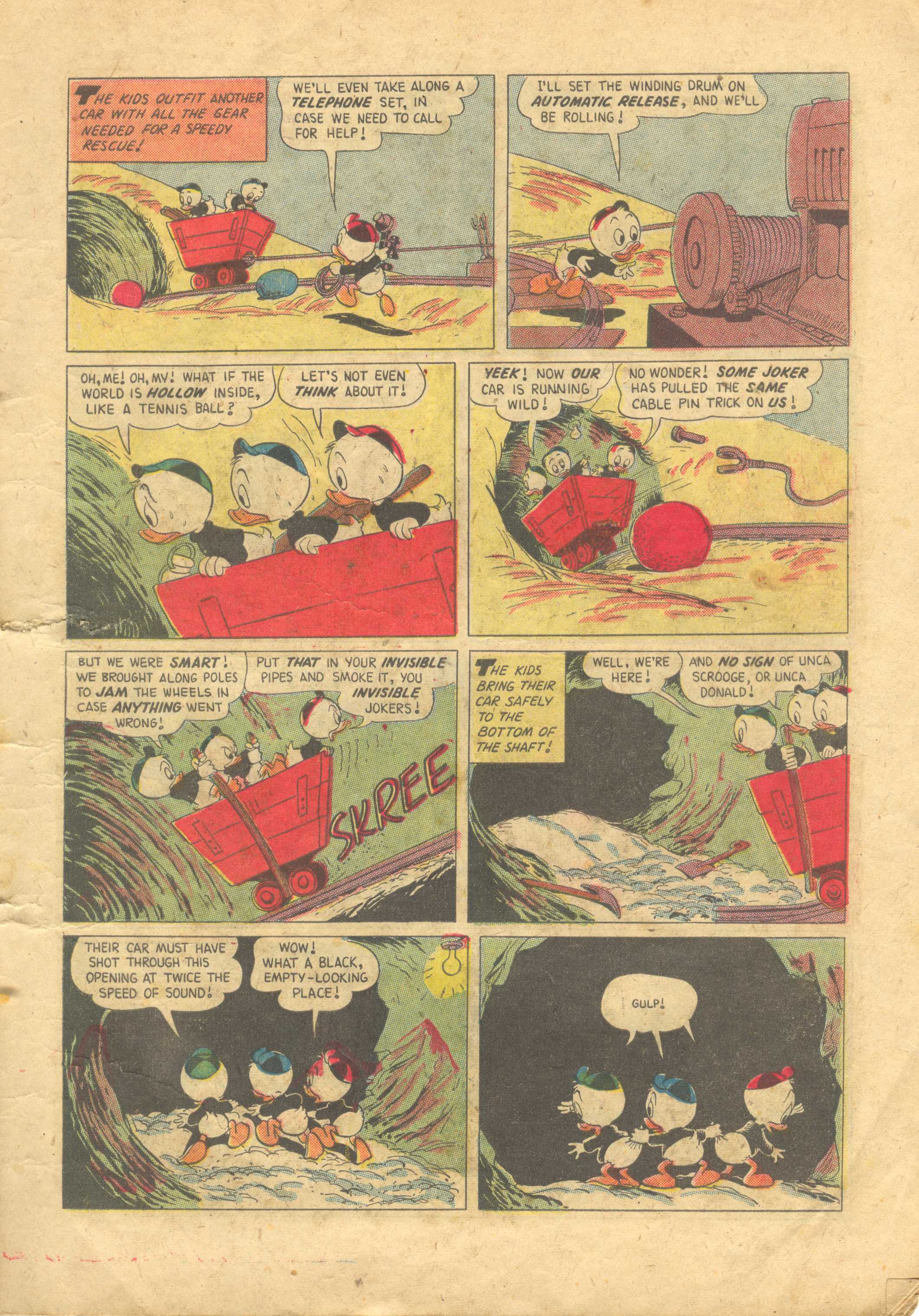 Uncle Scrooge (1953) #13 #392 - English 7