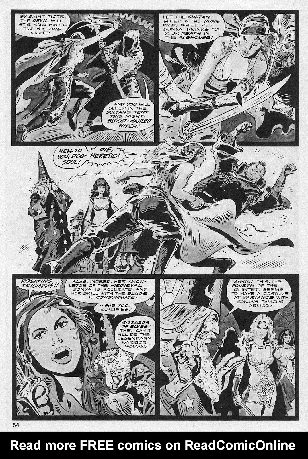 The Savage Sword Of Conan Issue #29 #30 - English 54
