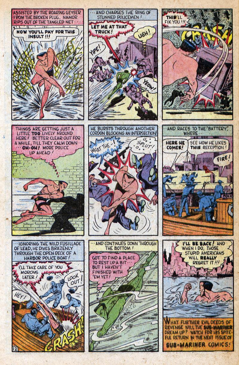 Sub-Mariner Comics #32 #32 - English 32