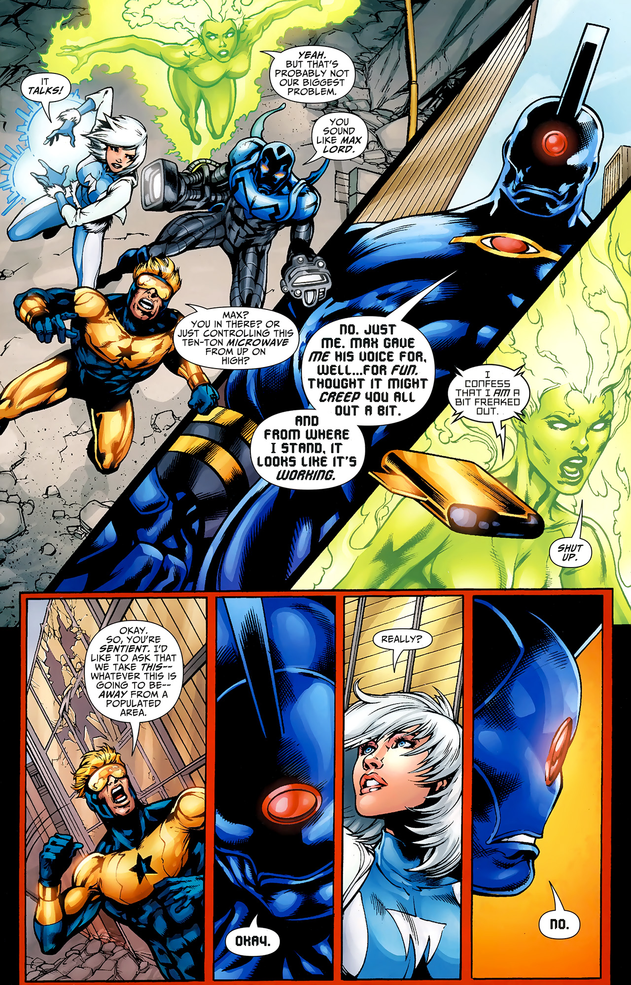 Read online Justice League: Generation Lost comic -  Issue #23 - 14
