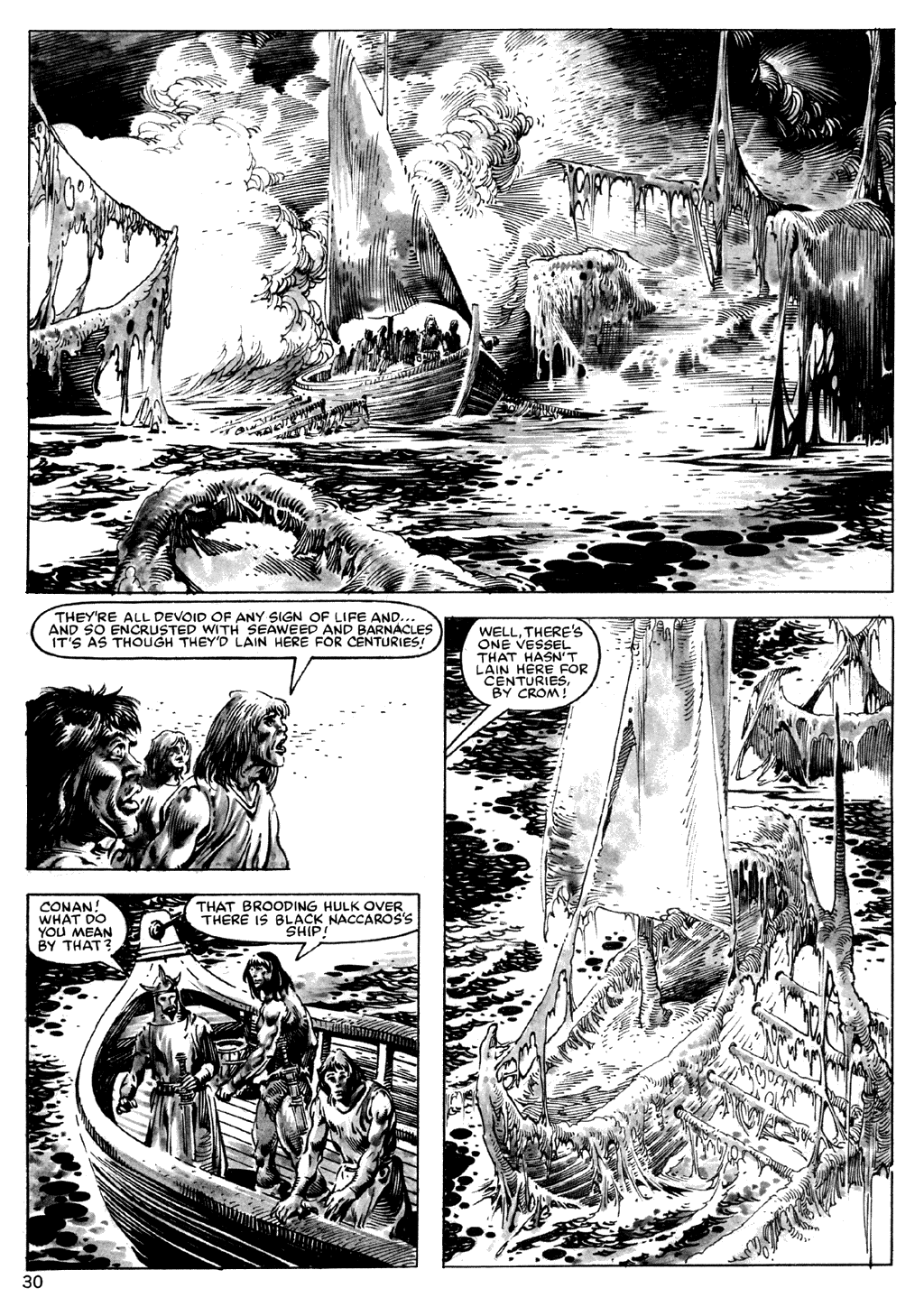 The Savage Sword Of Conan Issue #101 #102 - English 30