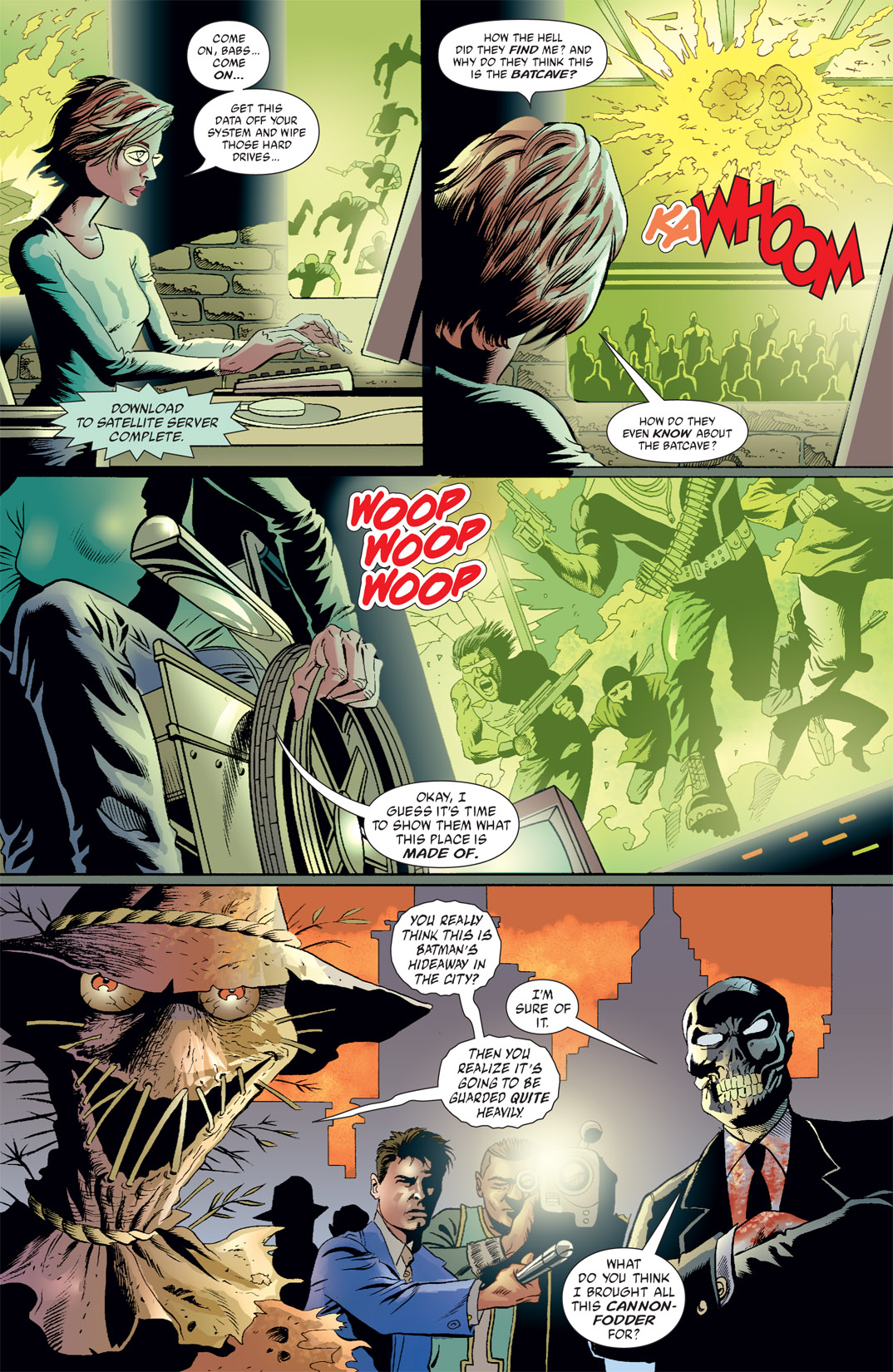 Read online Batman: War Games comic -  Issue #7 - 7