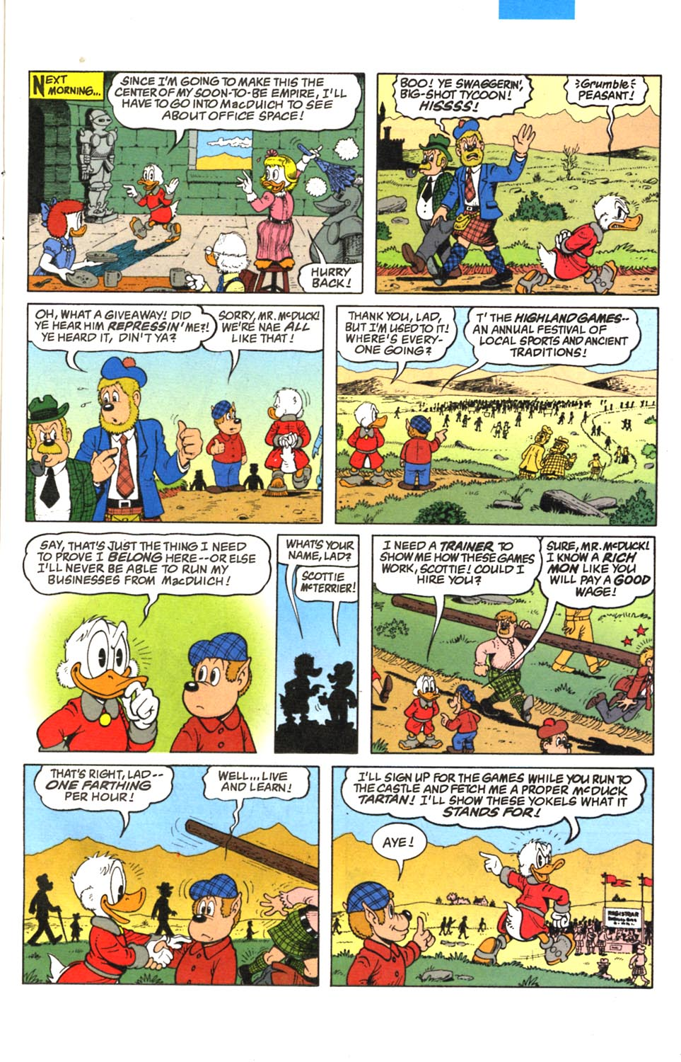 Uncle Scrooge (1953) Issue #293 #293 - English 8