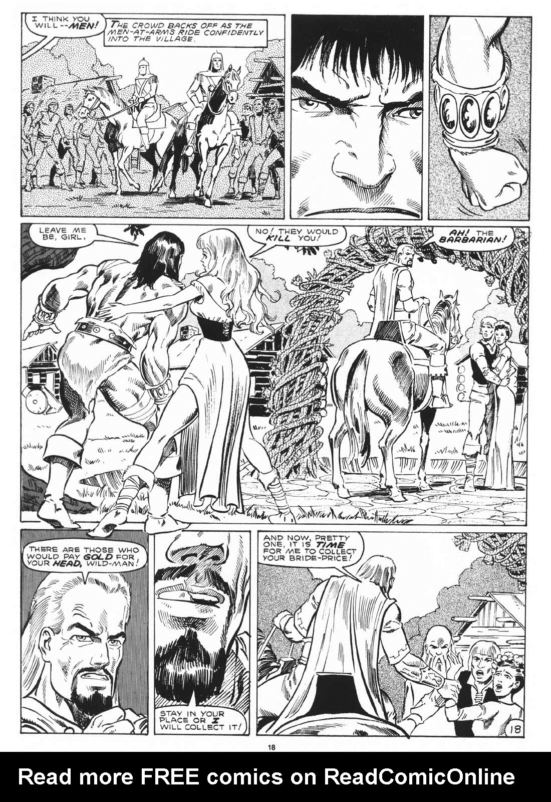 The Savage Sword Of Conan Issue #171 #172 - English 20
