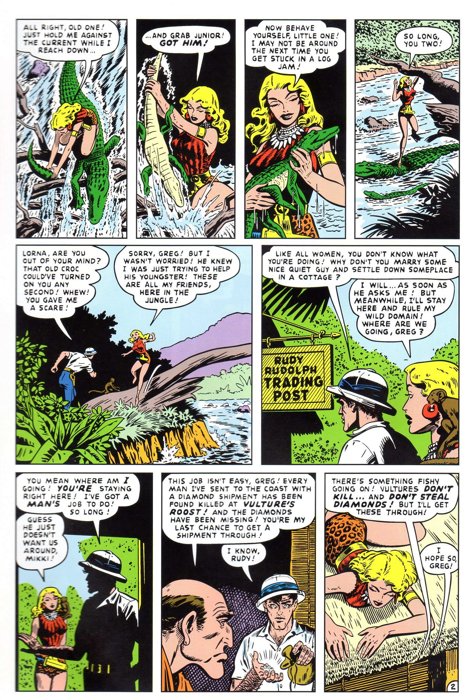 Read online Lorna, The Jungle Queen comic -  Issue #4 - 22