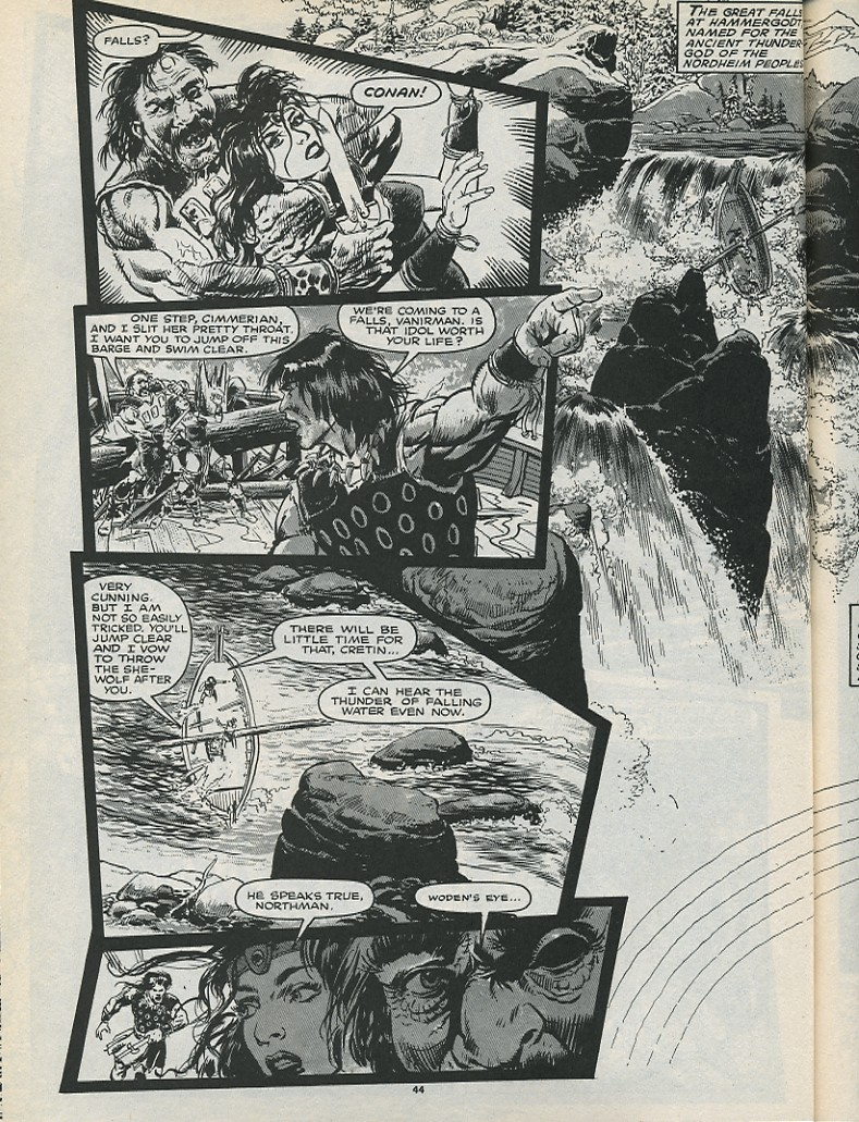 The Savage Sword Of Conan Issue #179 #180 - English 46