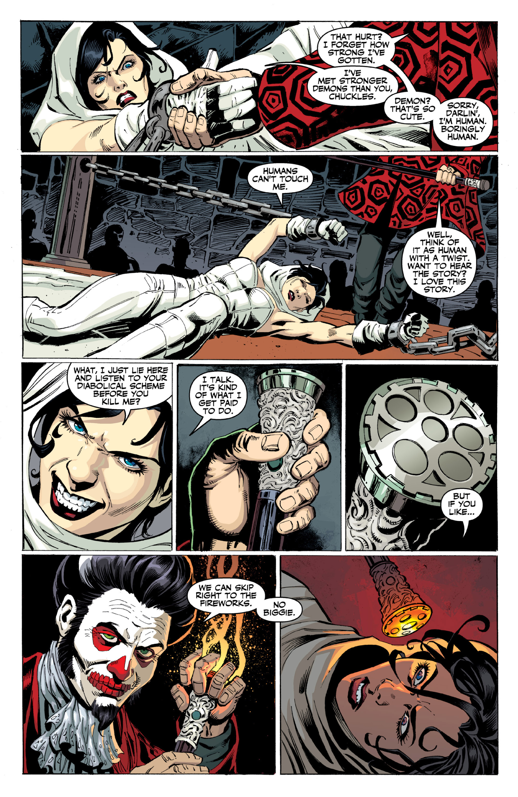 Read online Ghost (2013) comic -  Issue # TPB 2 - 33
