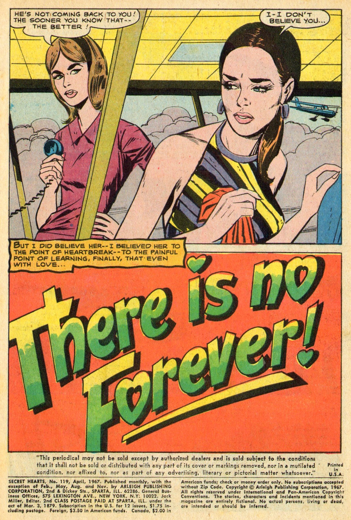 Read online Secret Hearts comic -  Issue #119 - 3