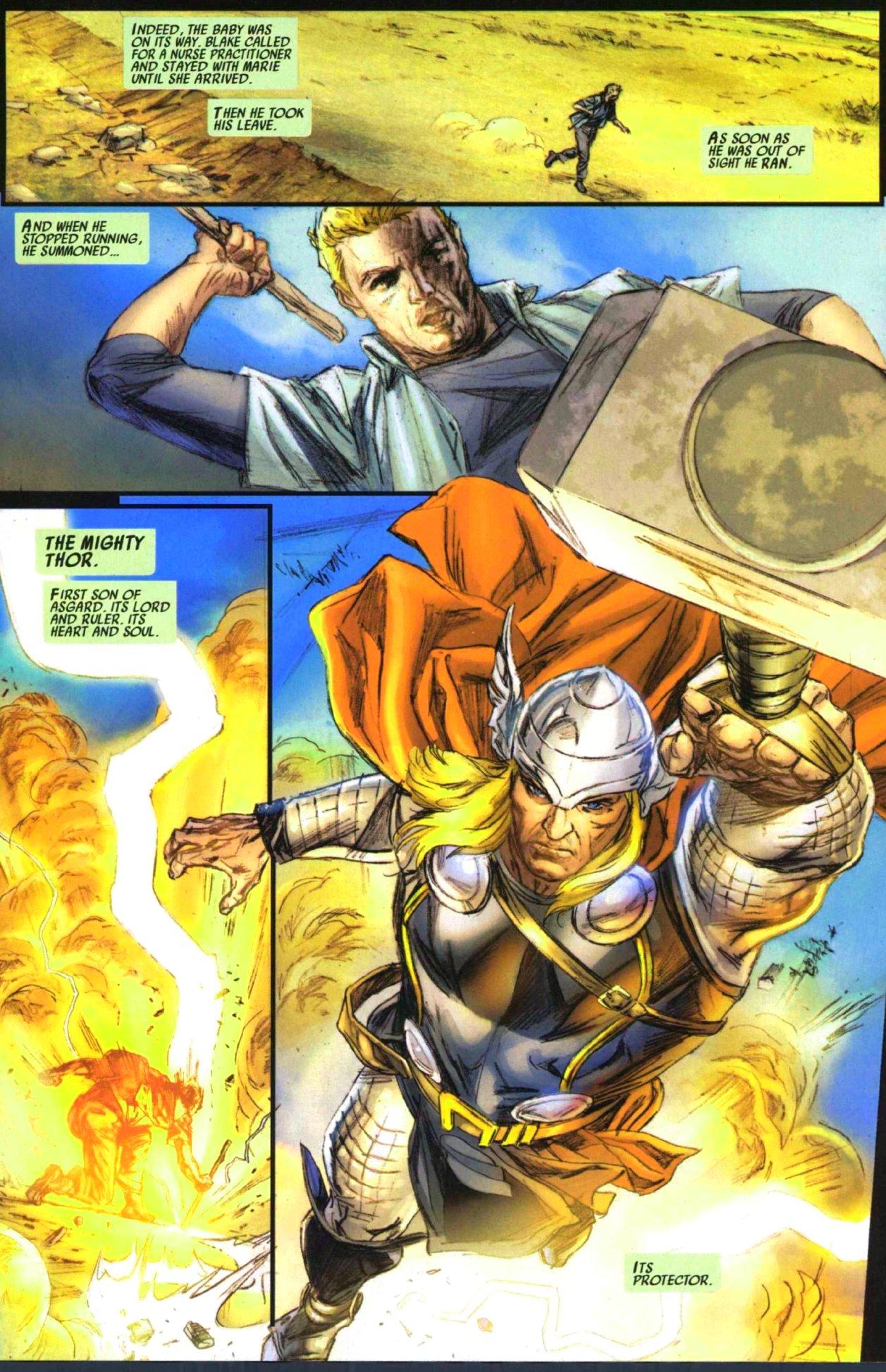 Read online Secret Invasion: Thor comic -  Issue #1 - 6
