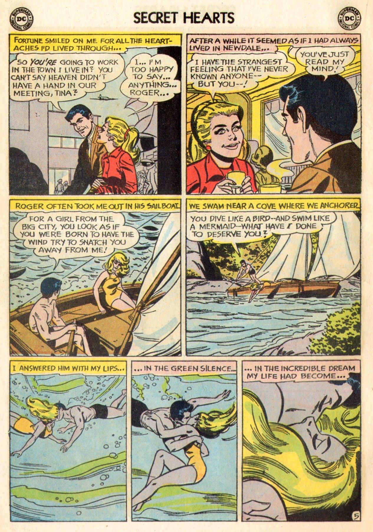 Read online Secret Hearts comic -  Issue #84 - 22