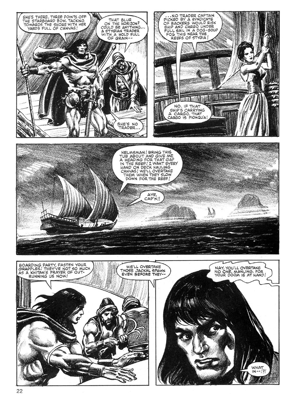 The Savage Sword Of Conan Issue #89 #90 - English 22