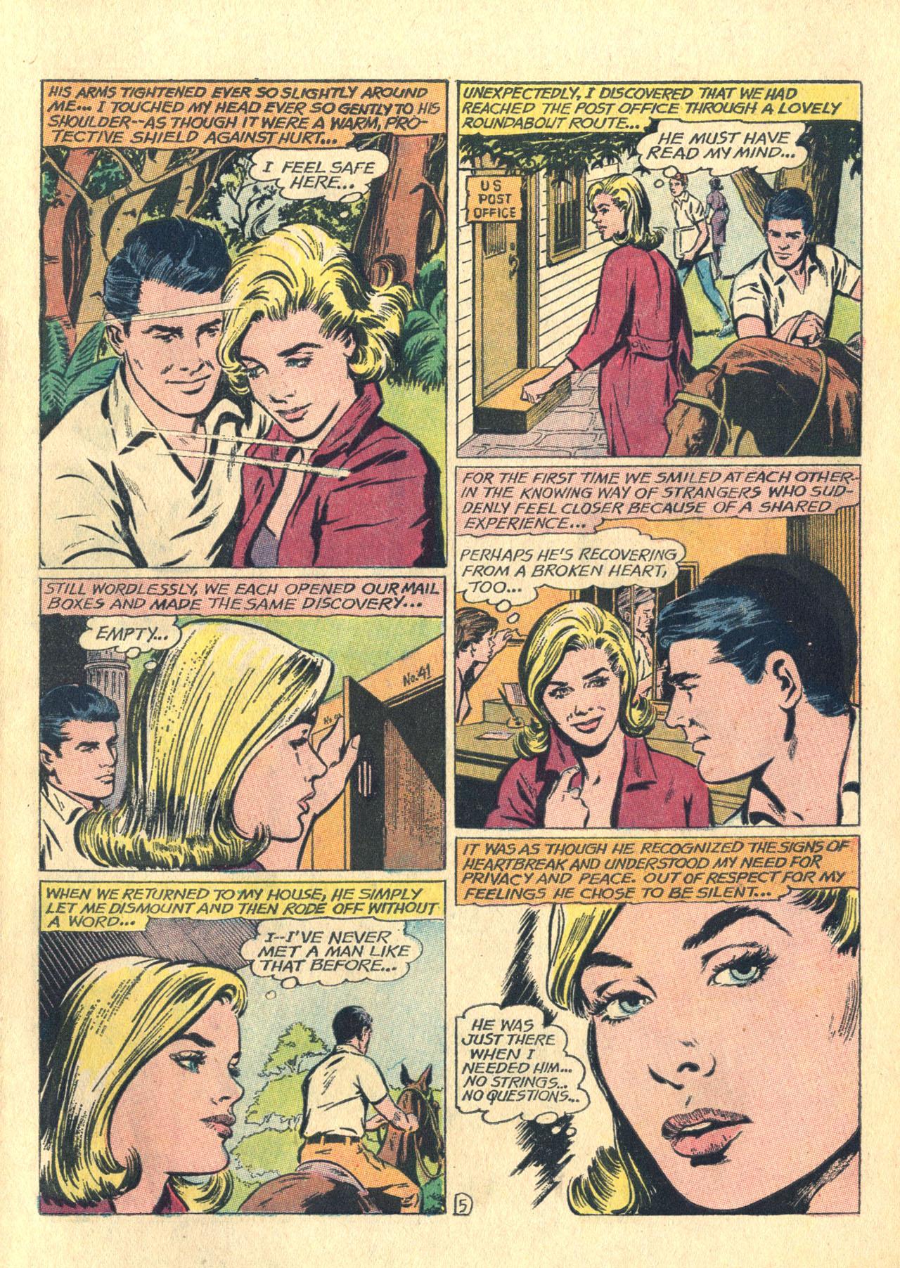 Read online Secret Hearts comic -  Issue #116 - 7