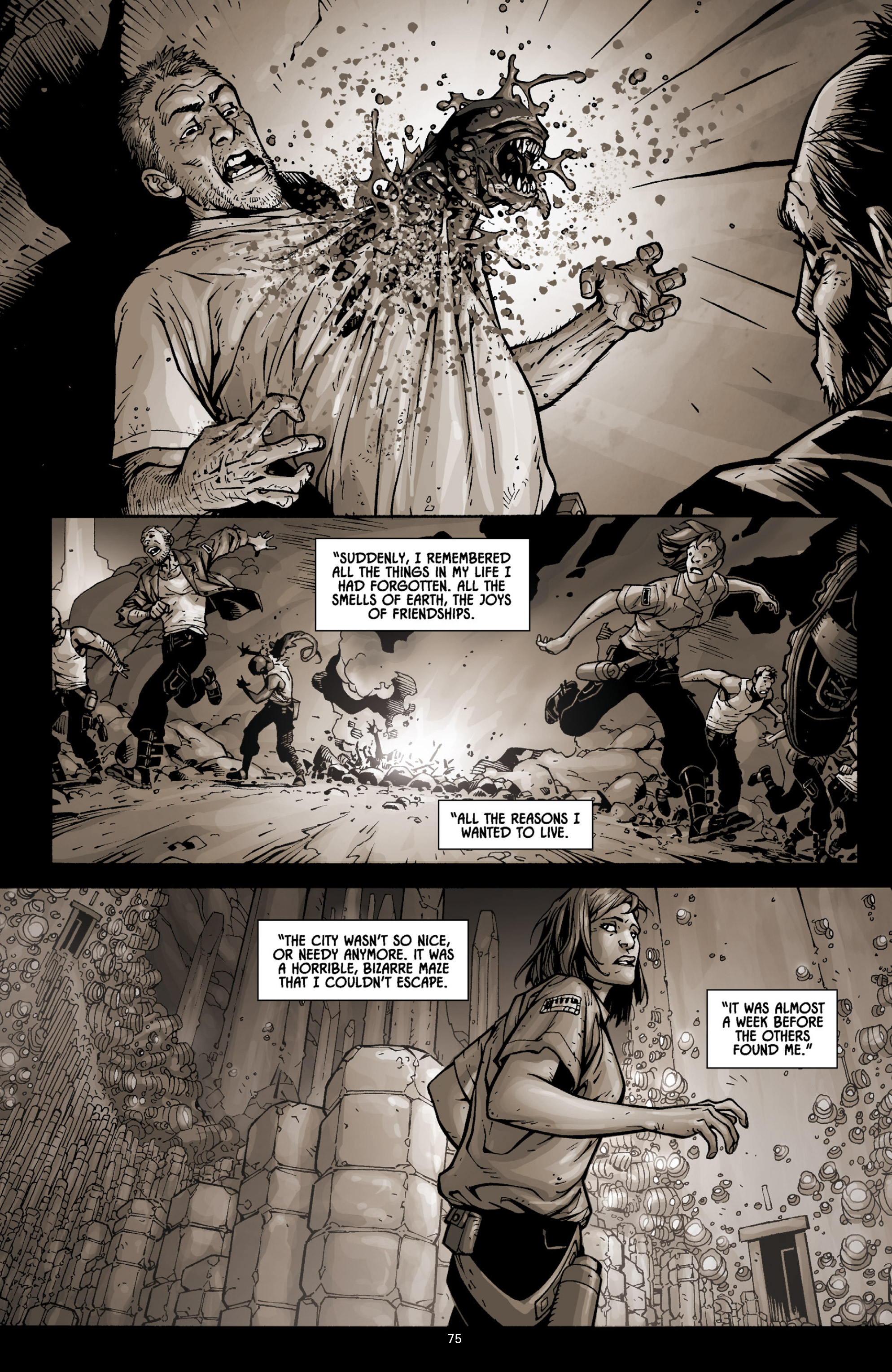 Aliens (2009) TPB Page 70