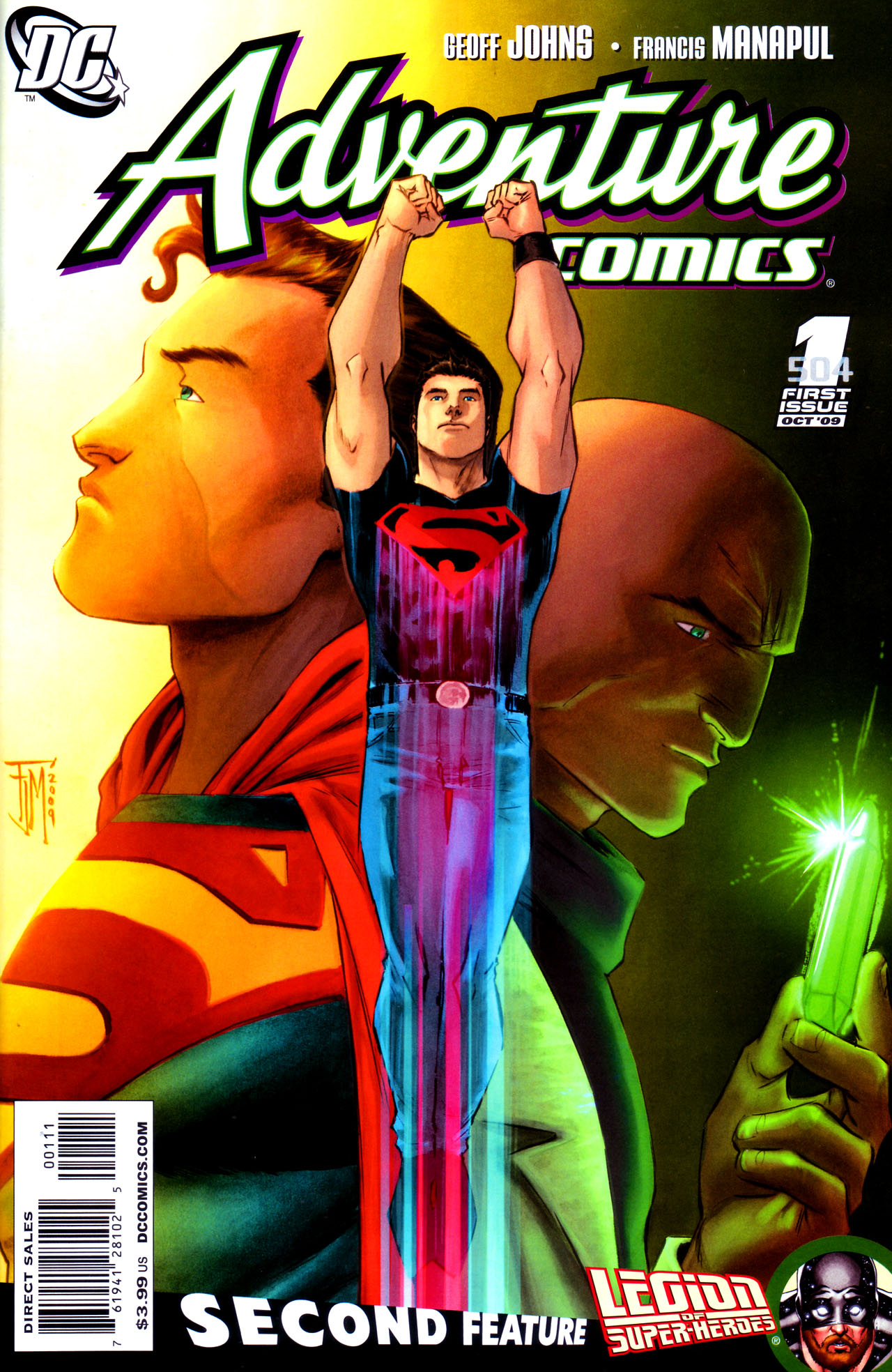 Adventure Comics (2009) 1 Page 1
