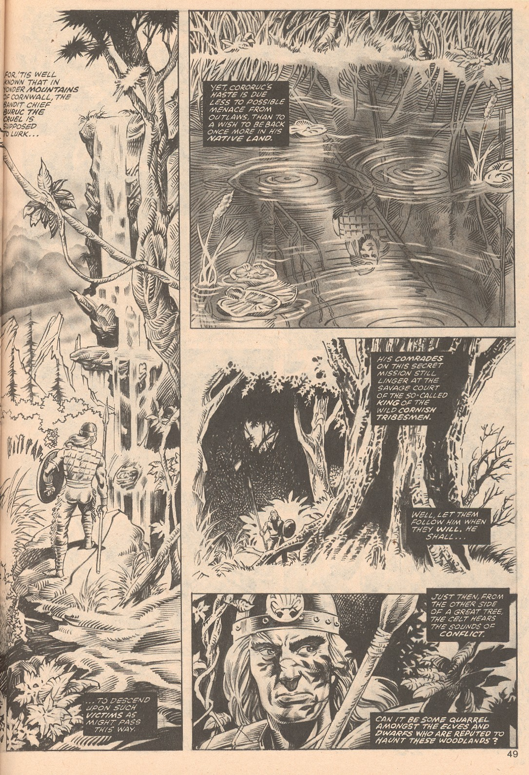 The Savage Sword Of Conan Issue #68 #69 - English 49
