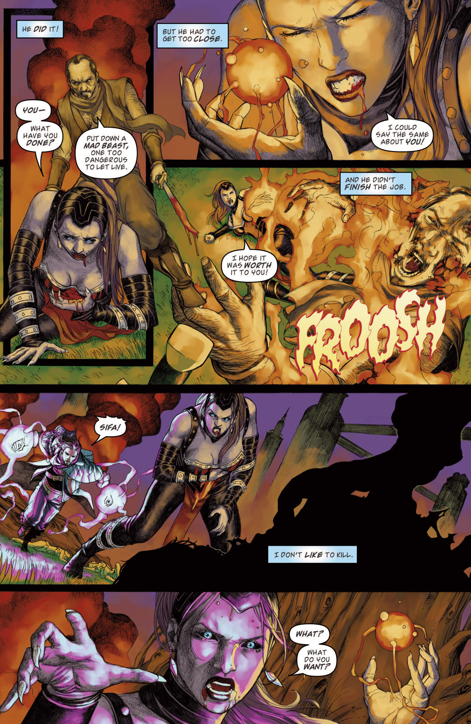 Read online Magic: The Gathering--Path of Vengeance comic -  Issue #4 - 18