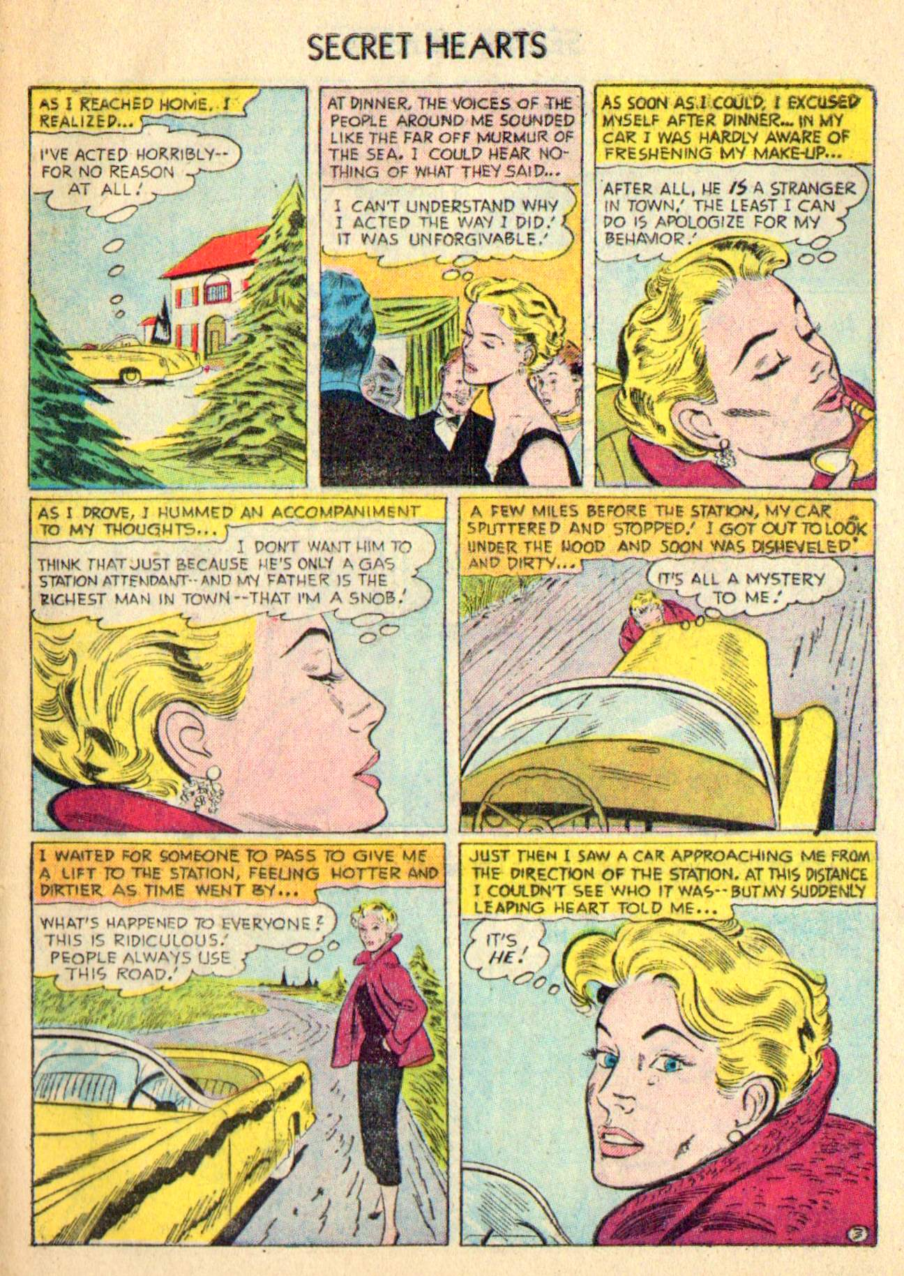 Read online Secret Hearts comic -  Issue #31 - 29