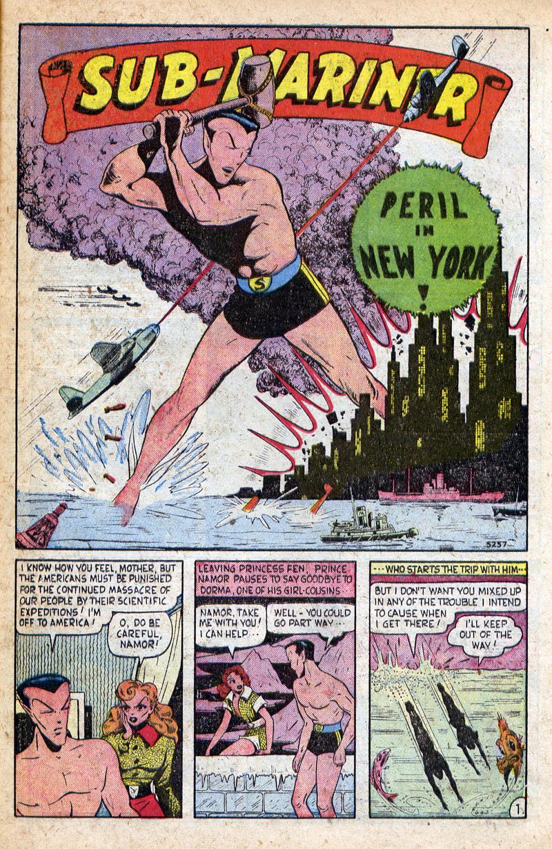 Sub-Mariner Comics #32 #32 - English 21