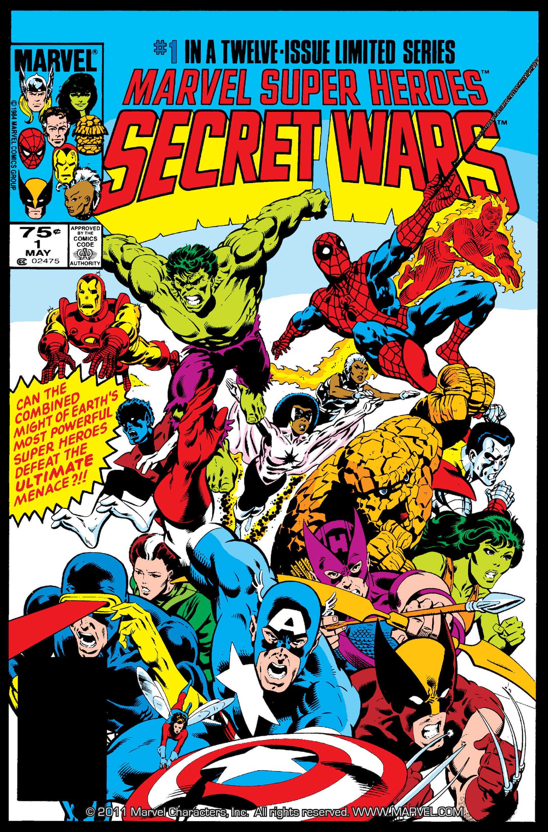 Marvel Super Heroes Secret Wars (1984) 1 Page 1