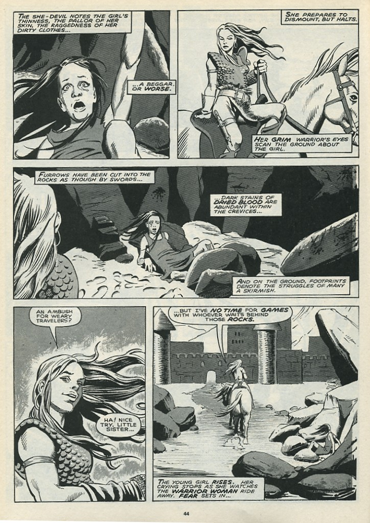 The Savage Sword Of Conan Issue #172 #173 - English 46