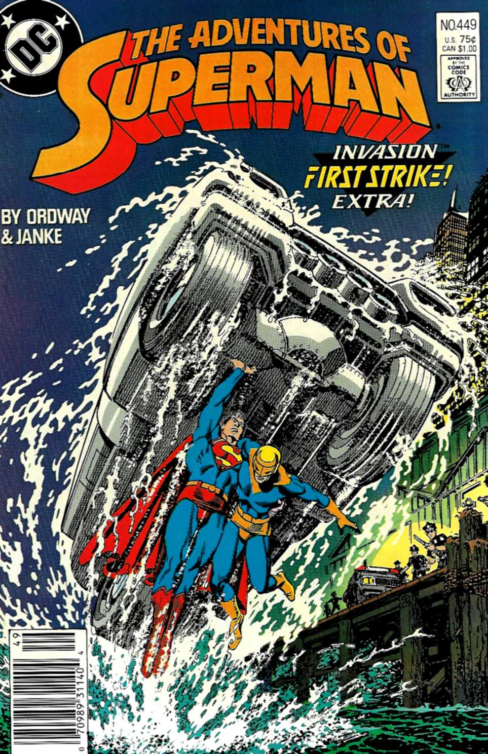 Adventures of Superman (1987) 449 Page 1