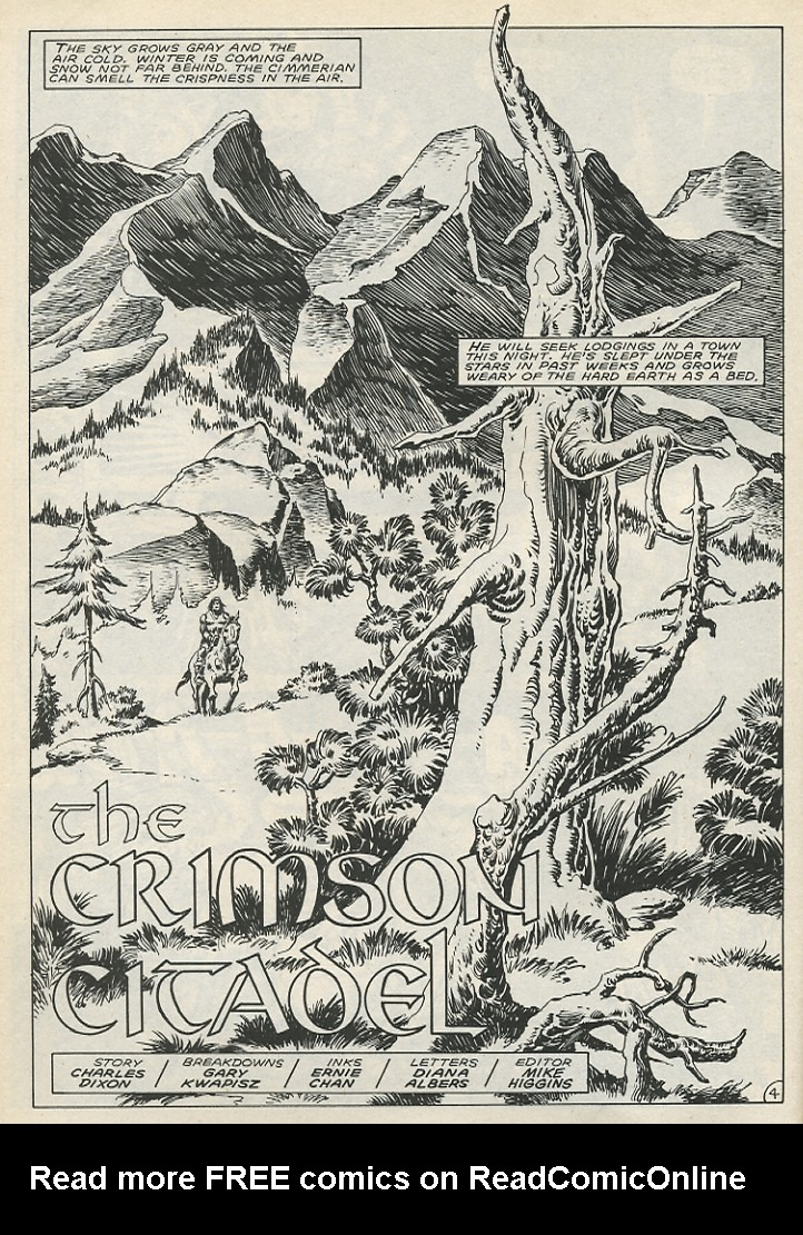 The Savage Sword Of Conan Issue #141 #142 - English 10