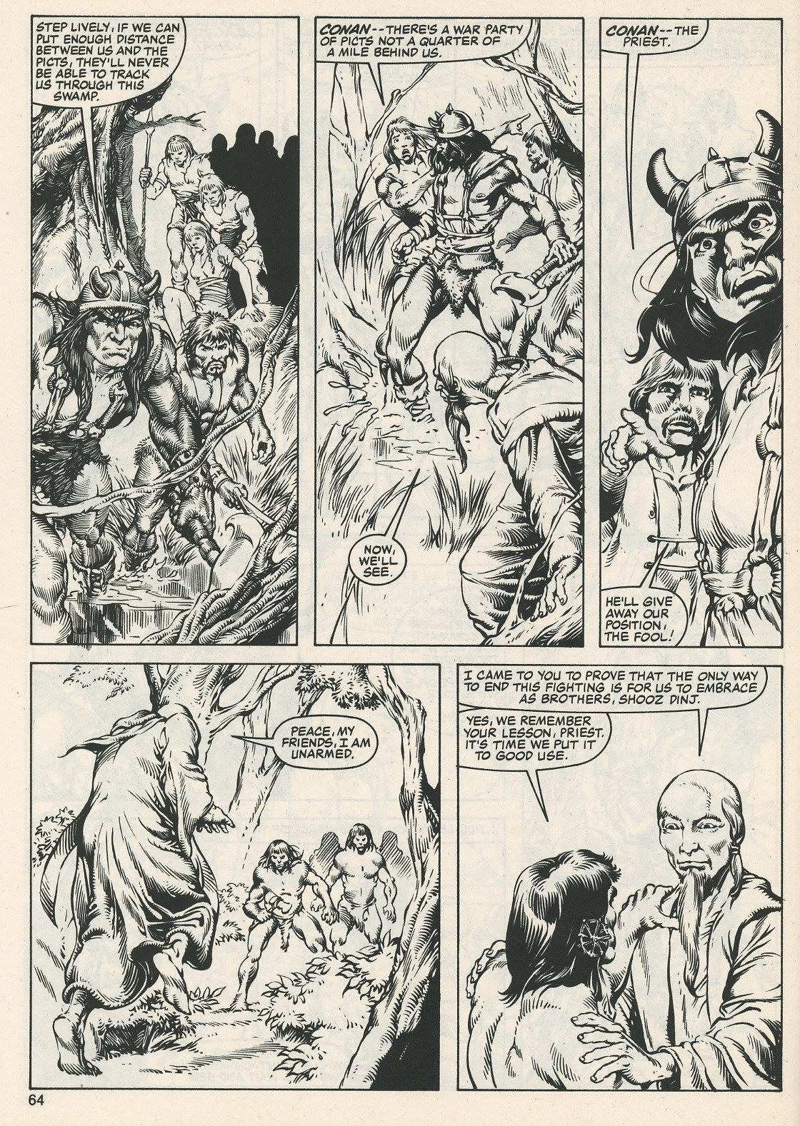 The Savage Sword Of Conan Issue #112 #113 - English 66