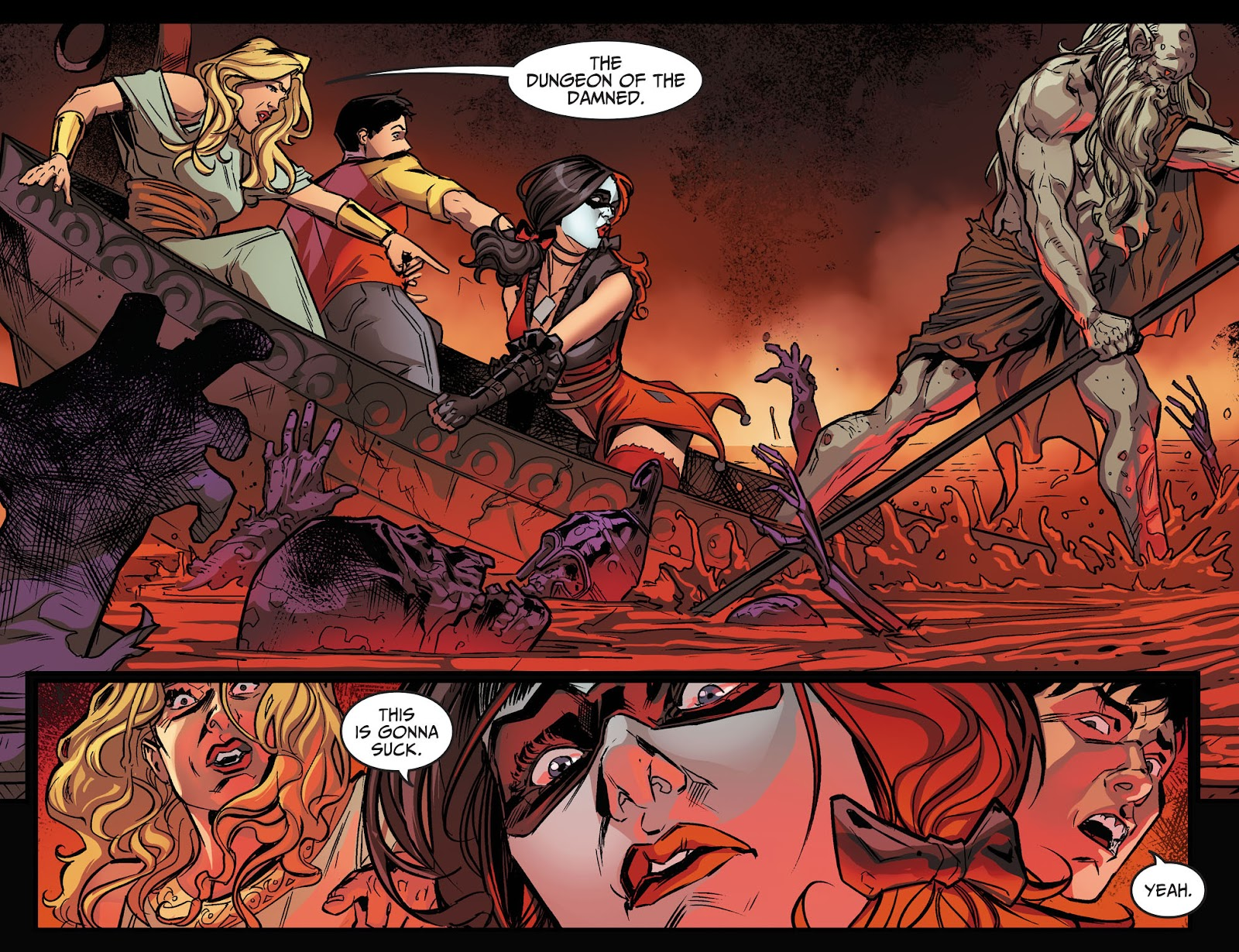 Injustice: Gods Among Us Year Four Issue #17 #18 - English 7