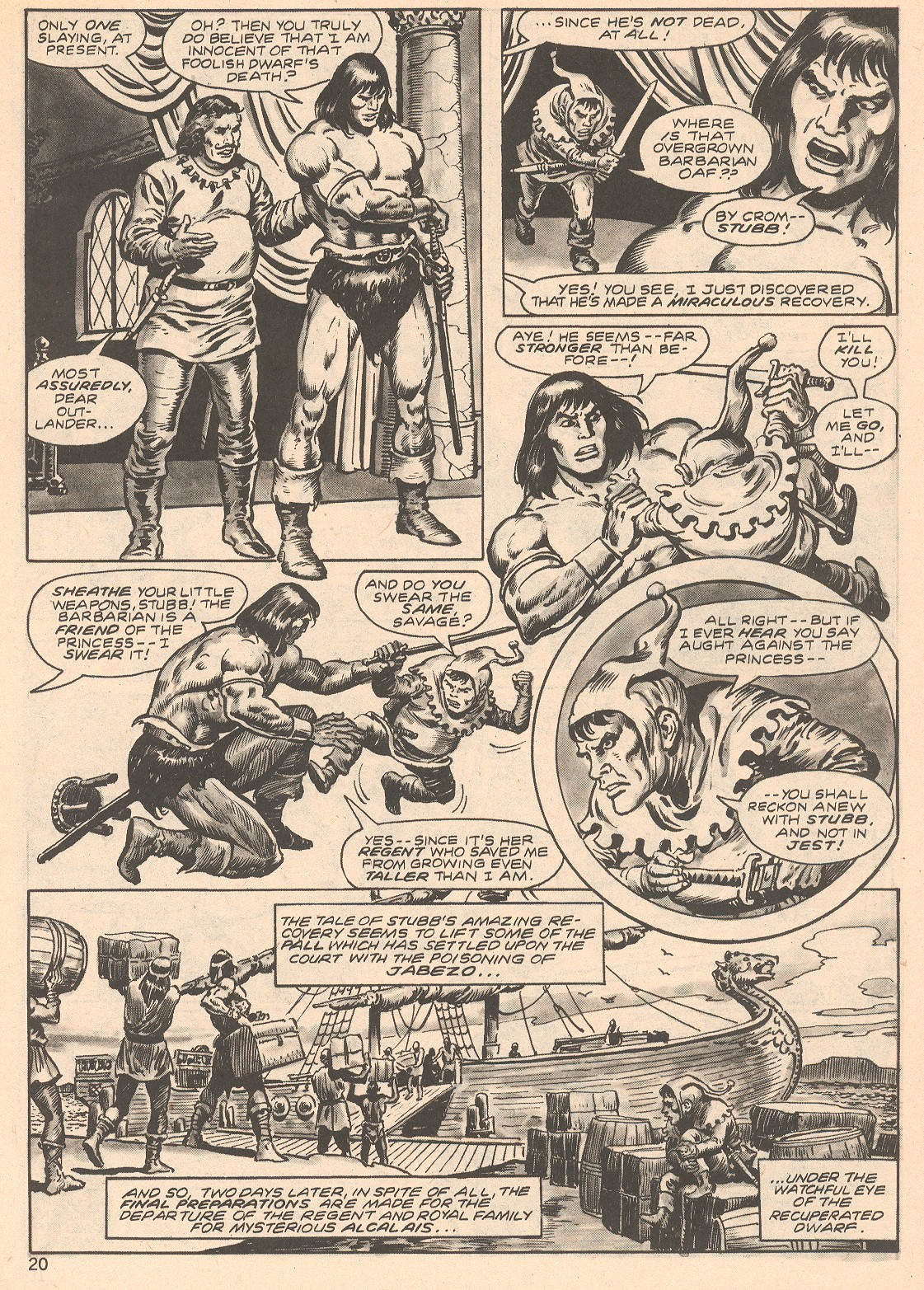 The Savage Sword Of Conan Issue #66 #67 - English 20