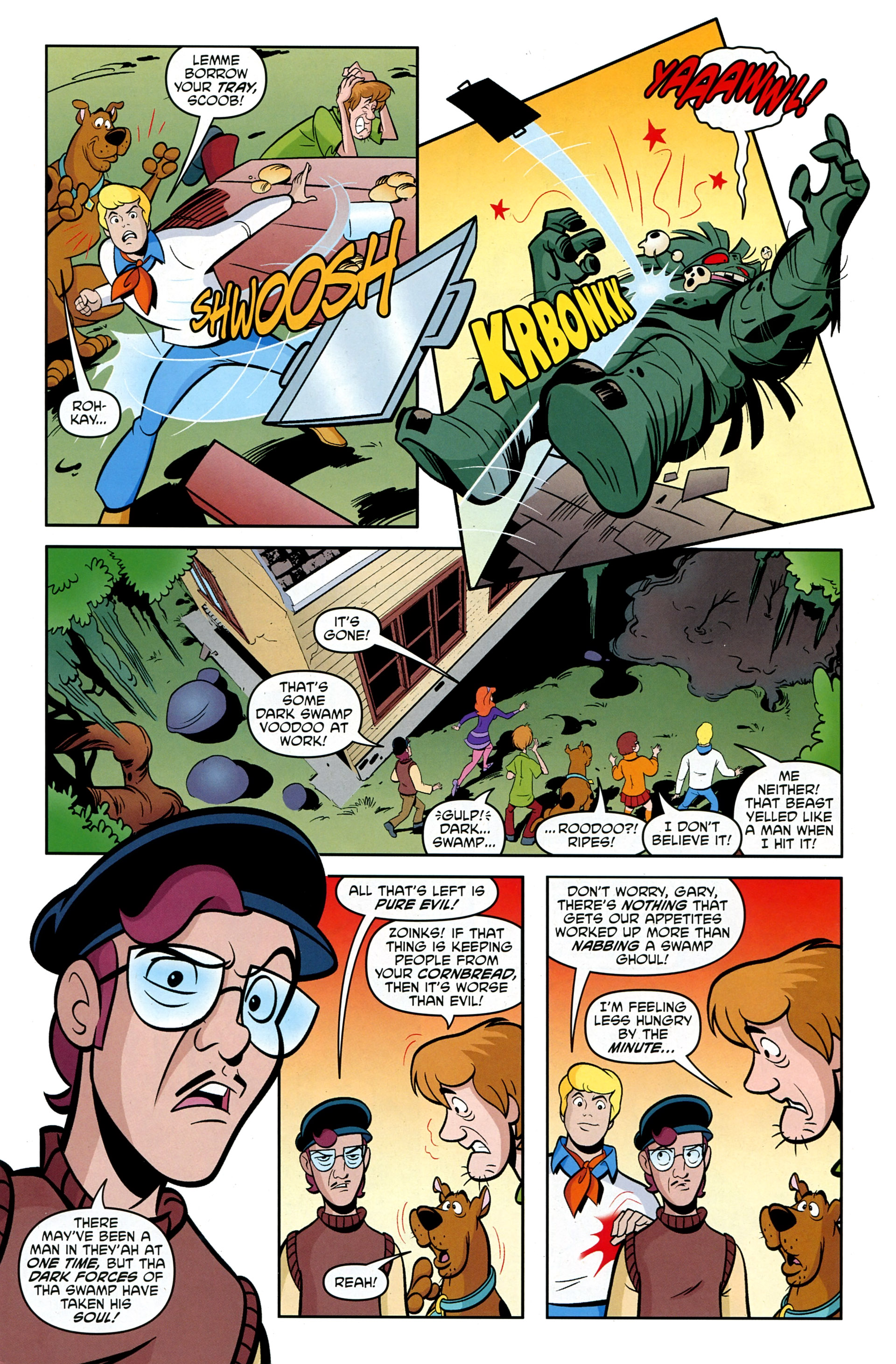Read online Scooby-Doo: Where Are You? comic -  Issue #33 - 23