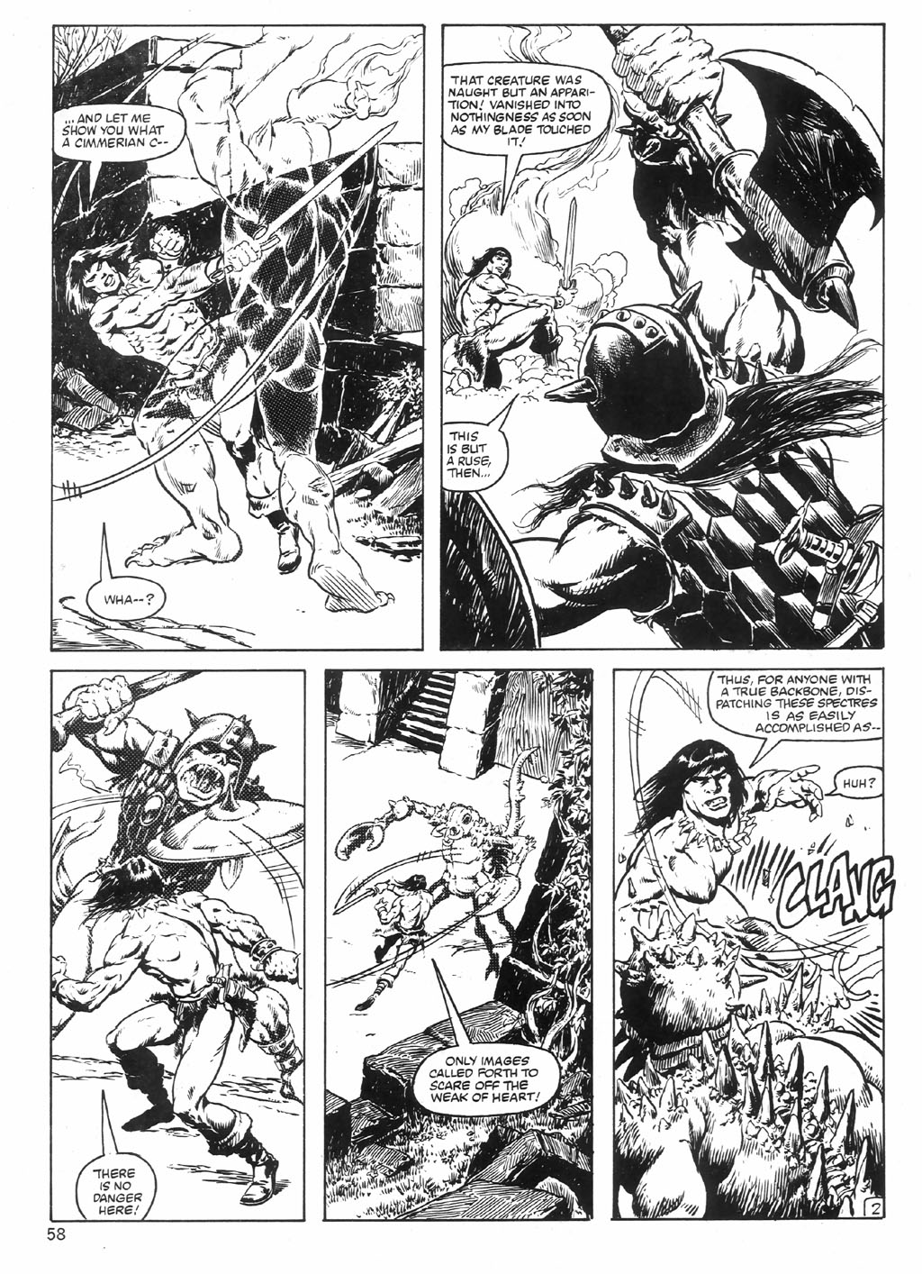 The Savage Sword Of Conan Issue #98 #99 - English 58