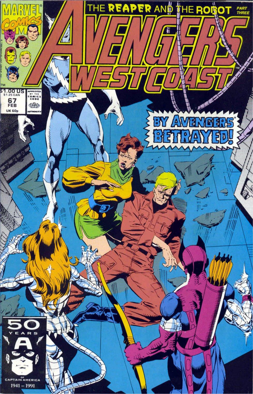 Avengers West Coast (1989) 67 Page 1