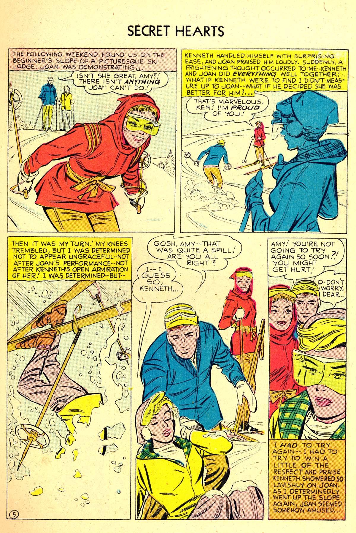 Read online Secret Hearts comic -  Issue #37 - 7