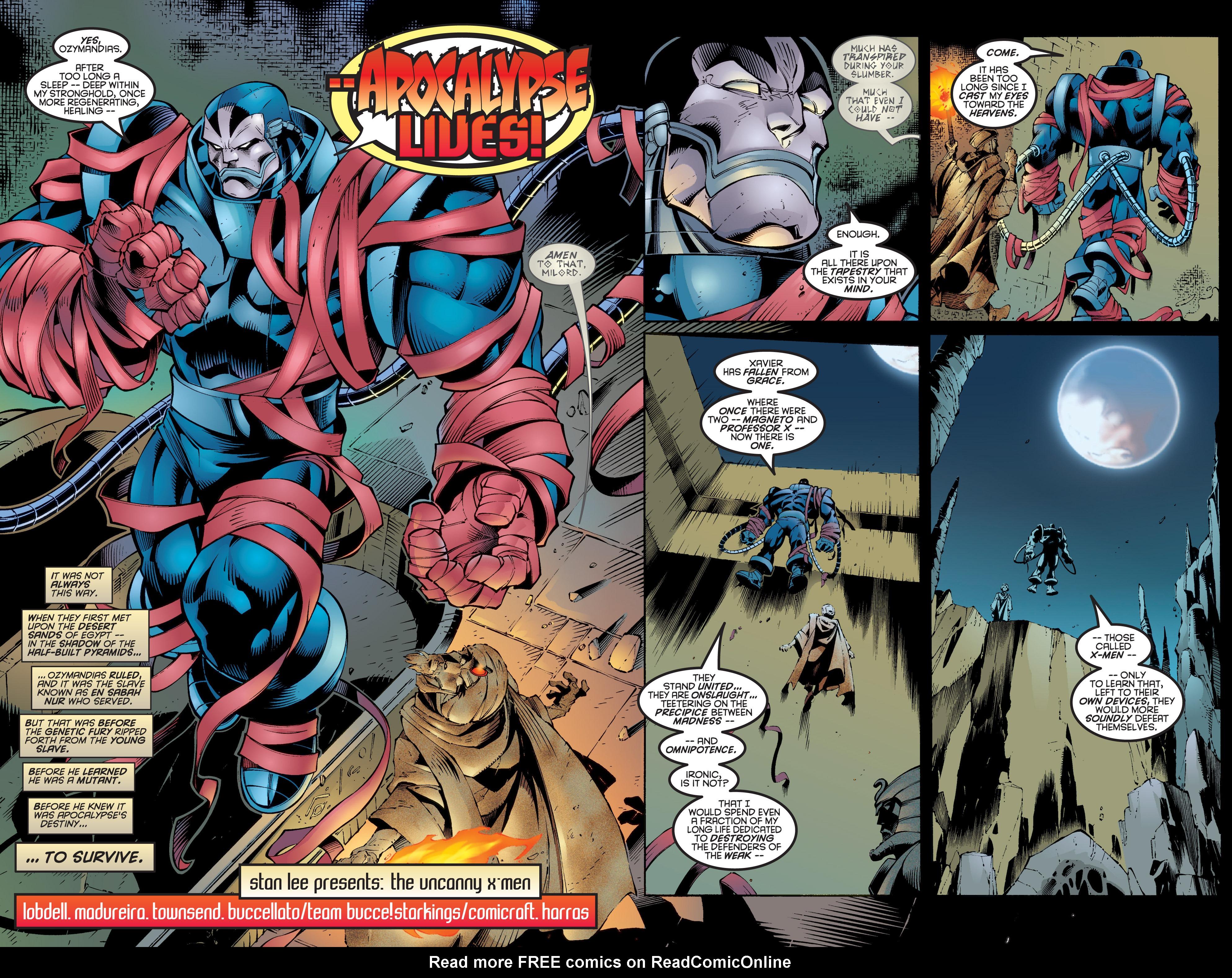 Uncanny X-Men (1963) 335 Page 2