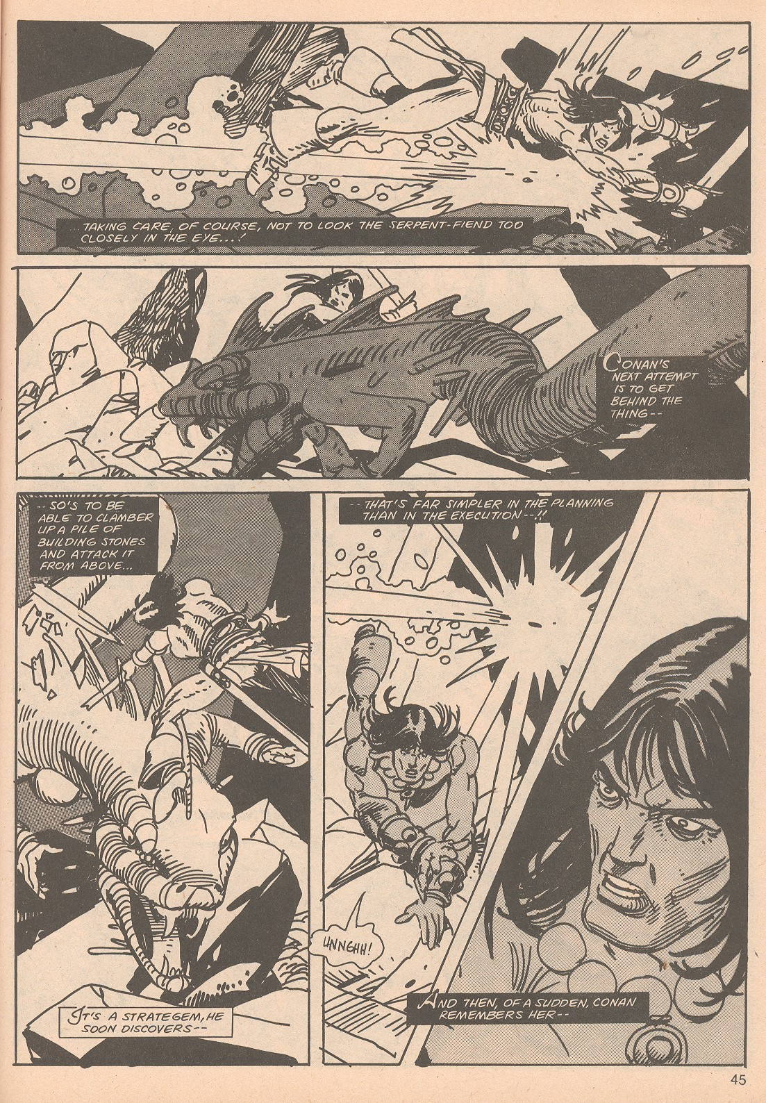 The Savage Sword Of Conan Issue #65 #66 - English 45
