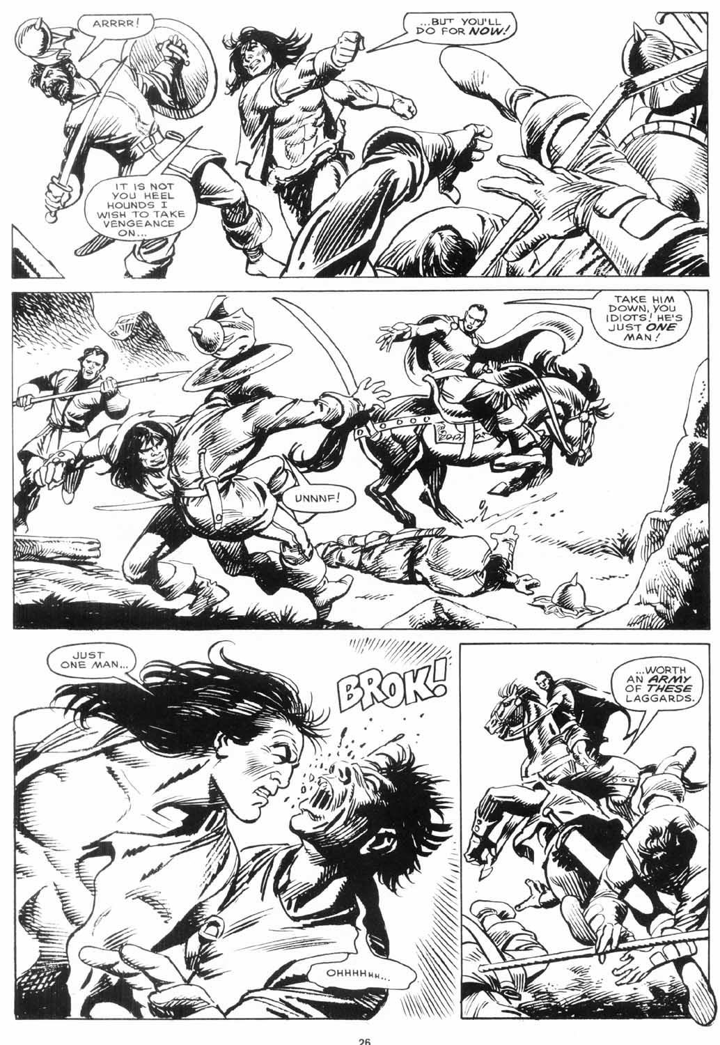 The Savage Sword Of Conan Issue #156 #157 - English 26