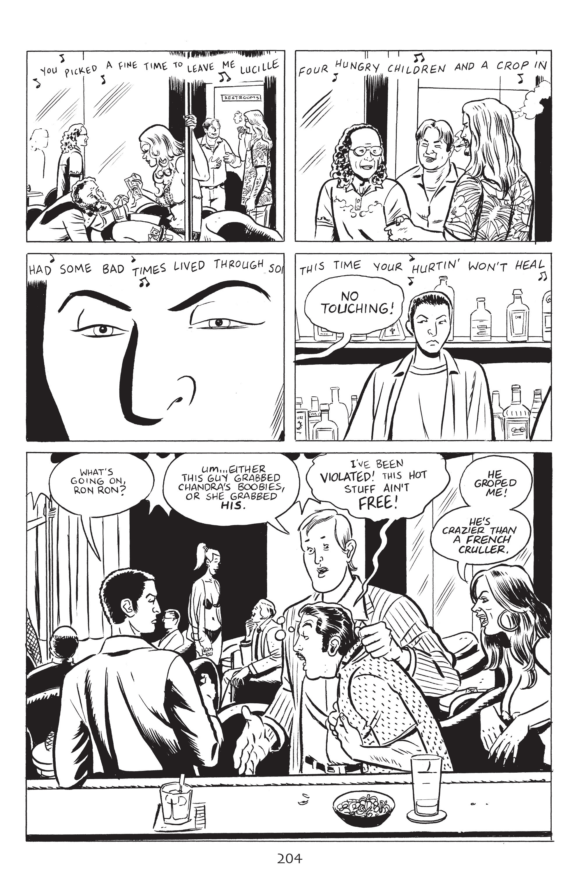 Read online Stray Bullets: Sunshine & Roses comic -  Issue #8 - 10