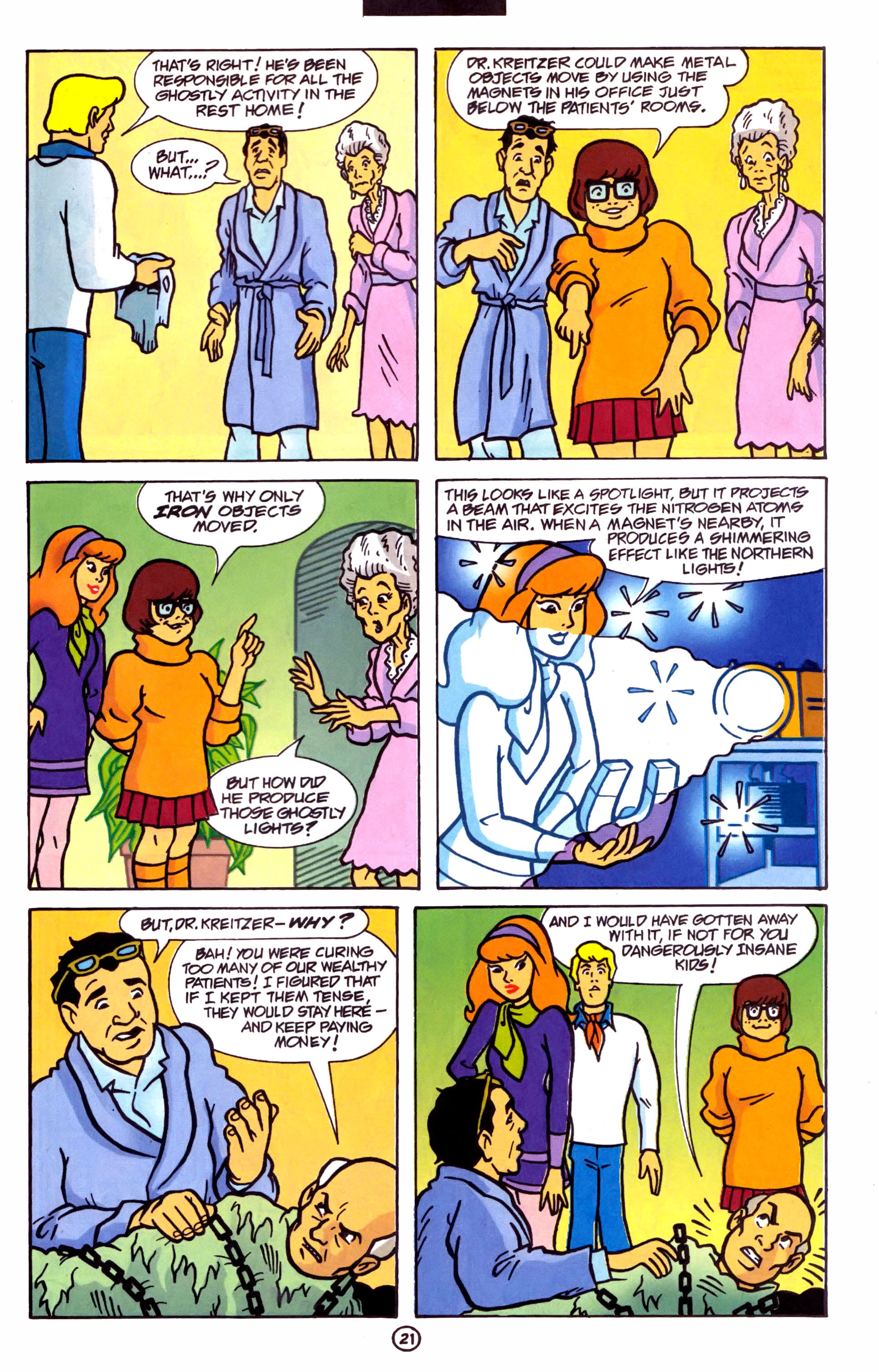 Read online Scooby-Doo (1997) comic -  Issue #1 - 16